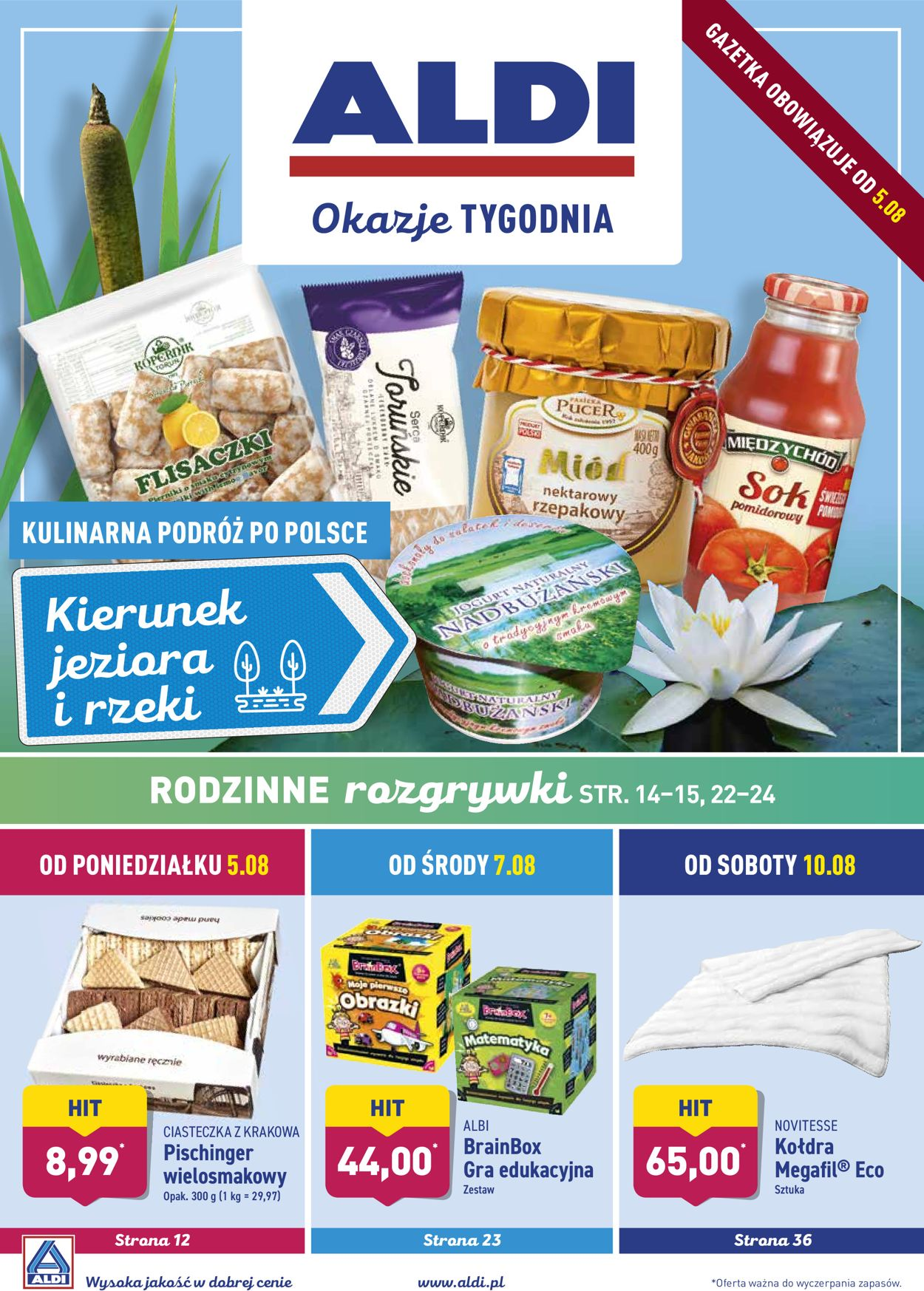 Gazetka promocyjna ALDI - 05.08-11.08.2019