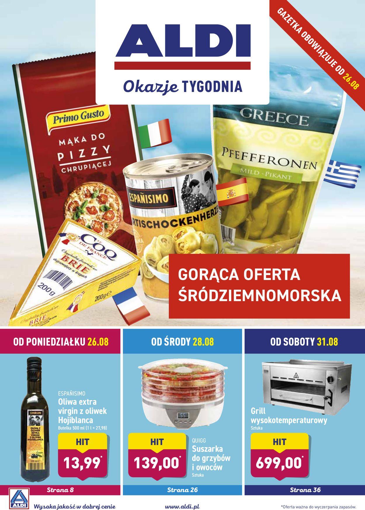 Gazetka promocyjna ALDI - 26.08-01.09.2019