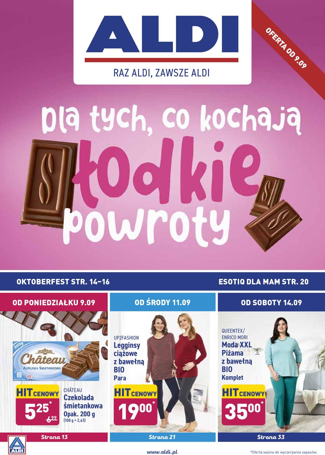 Gazetka promocyjna ALDI - 09.09-15.09.2019