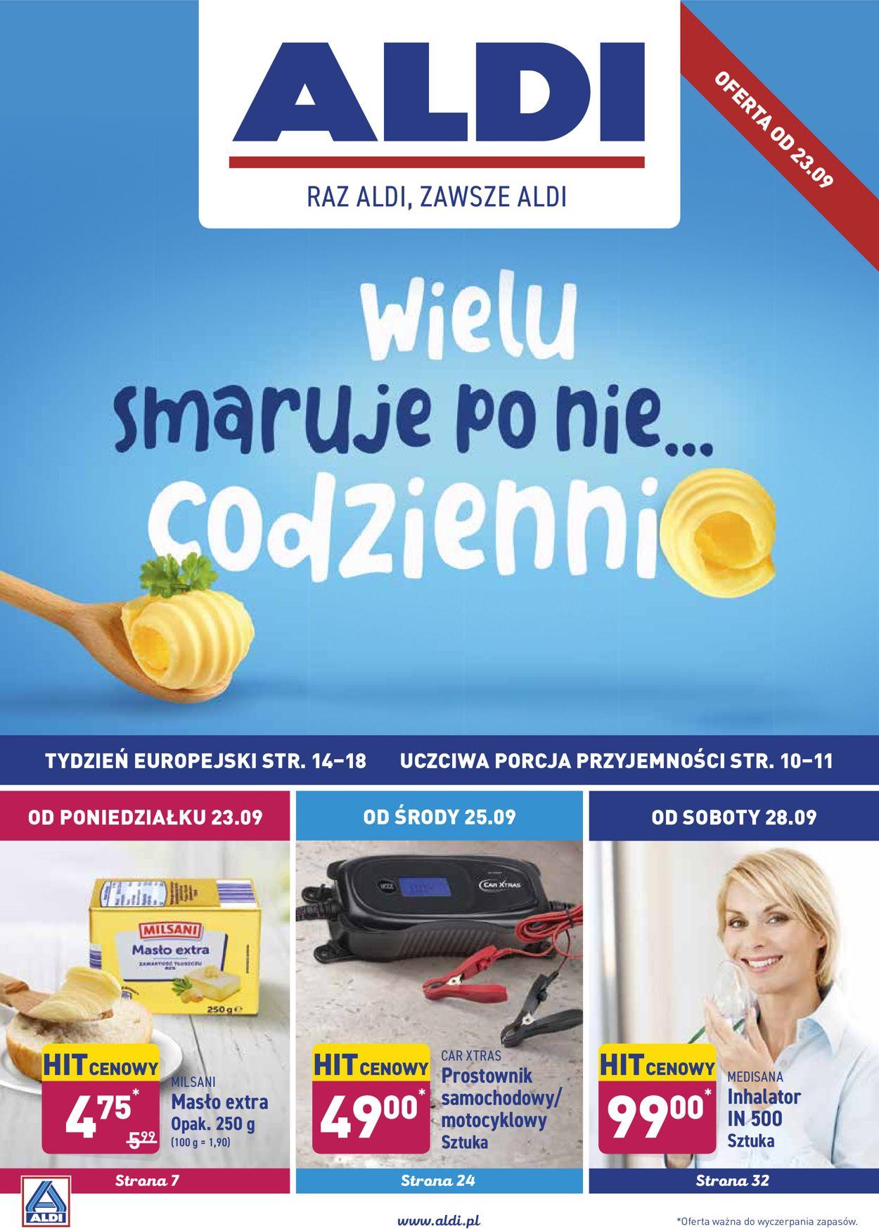Gazetka promocyjna ALDI - 23.09-29.09.2019