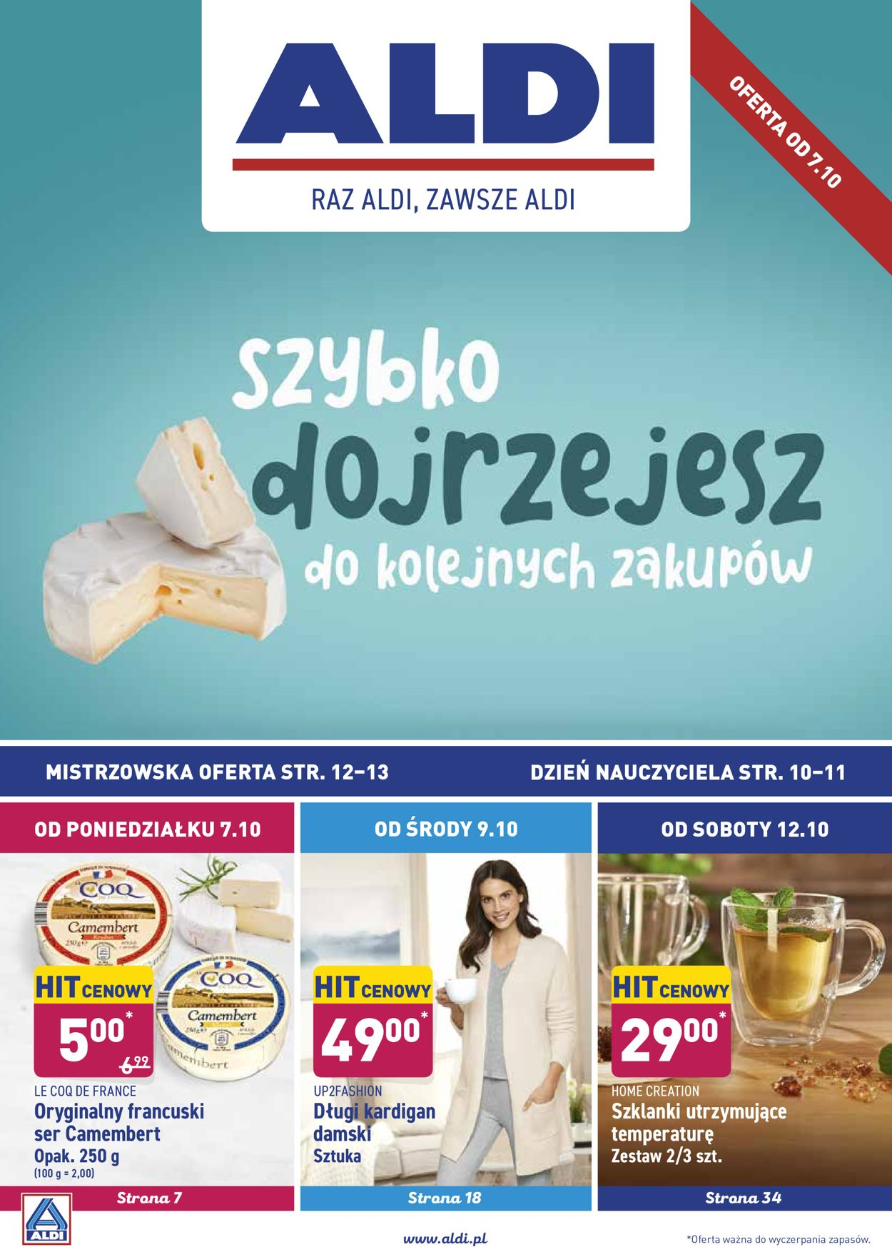 Gazetka promocyjna ALDI - 07.10-13.10.2019