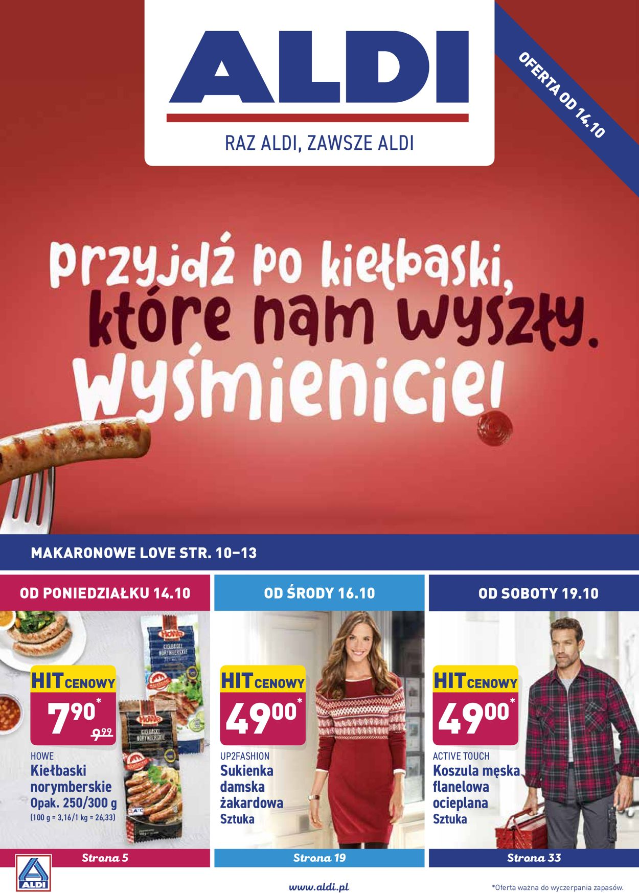 Gazetka promocyjna ALDI - 14.10-19.10.2019