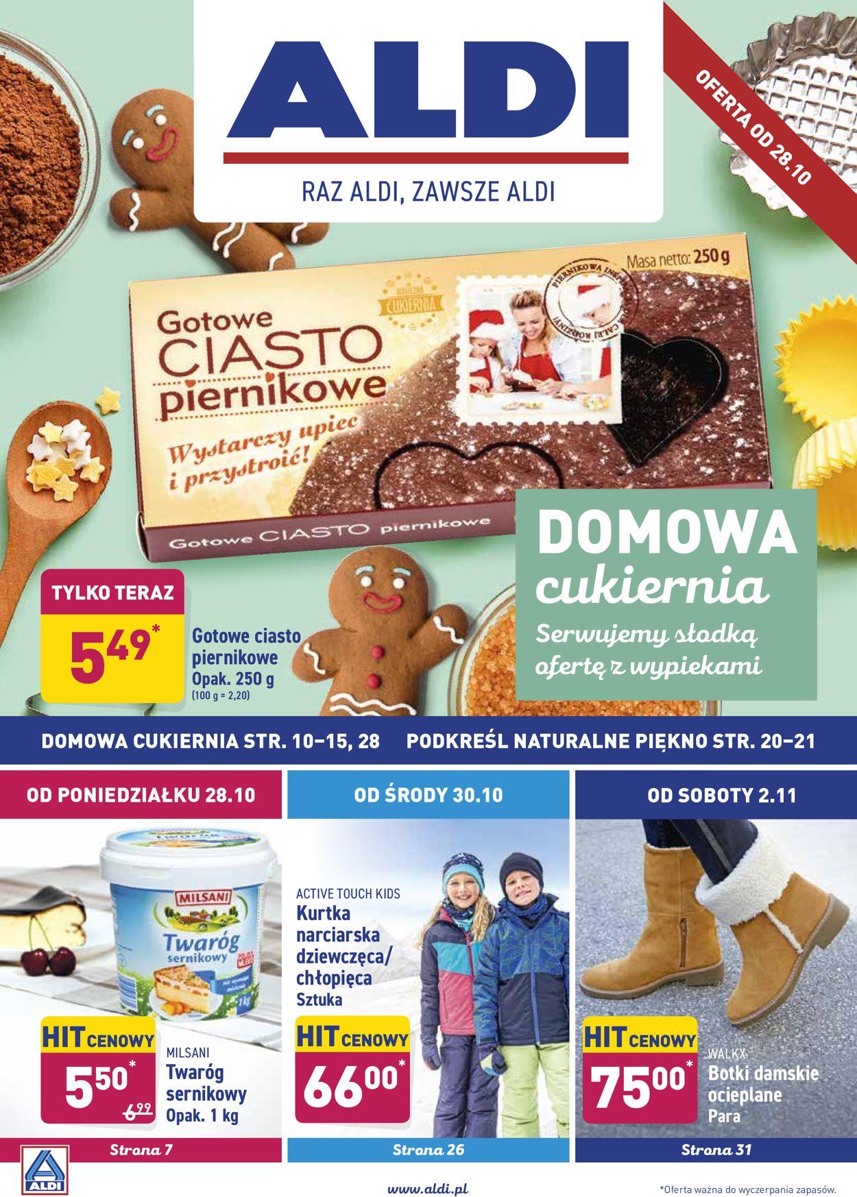 Gazetka promocyjna ALDI - 28.10-03.11.2019