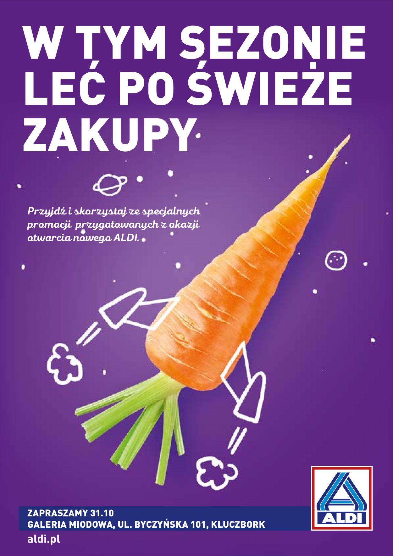 Gazetka promocyjna ALDI - 31.10-06.11.2019