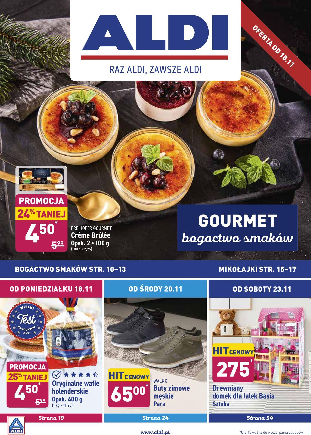 Gazetka promocyjna ALDI - 18.11-24.11.2019