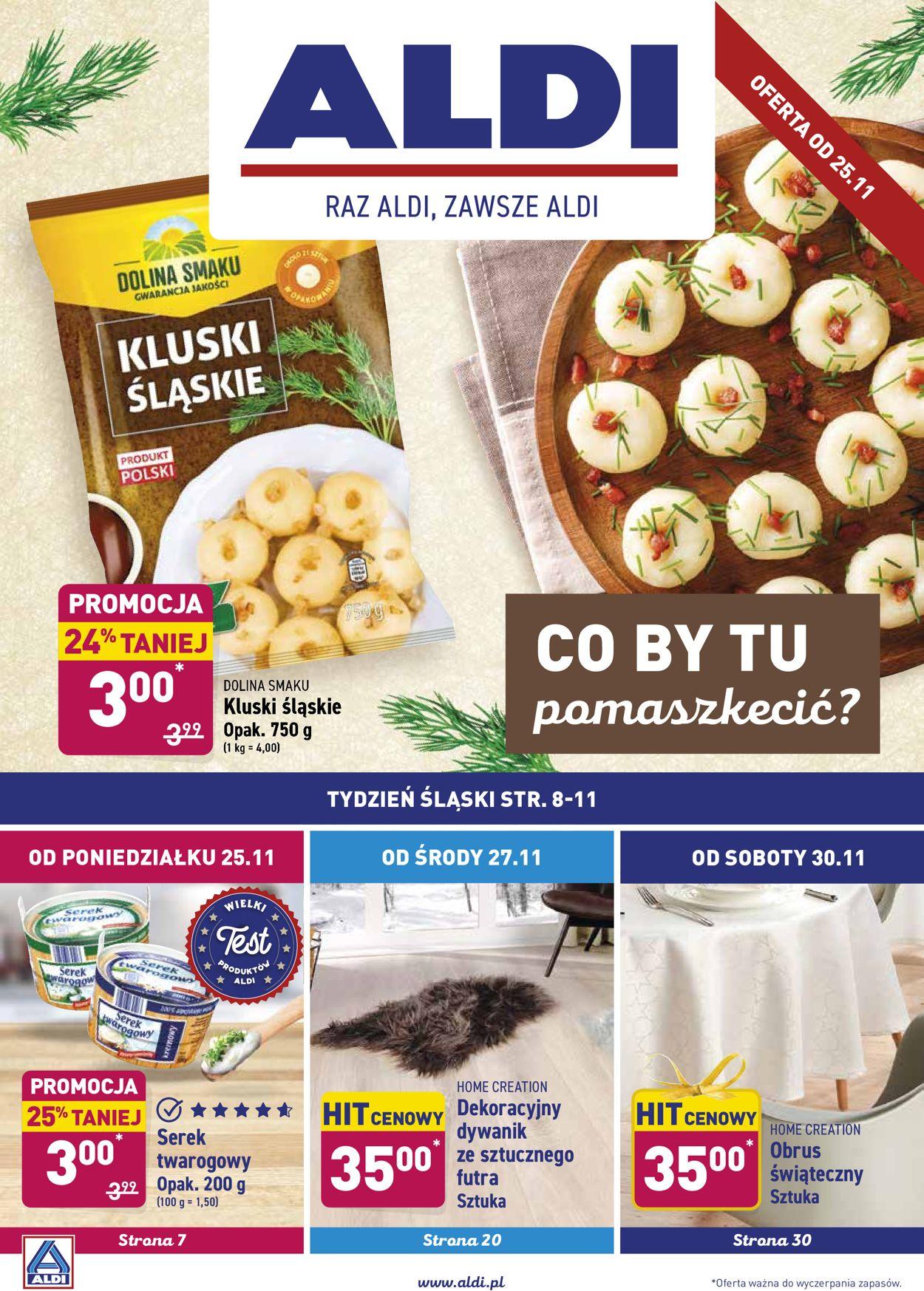 Gazetka promocyjna ALDI - 25.11-01.12.2019
