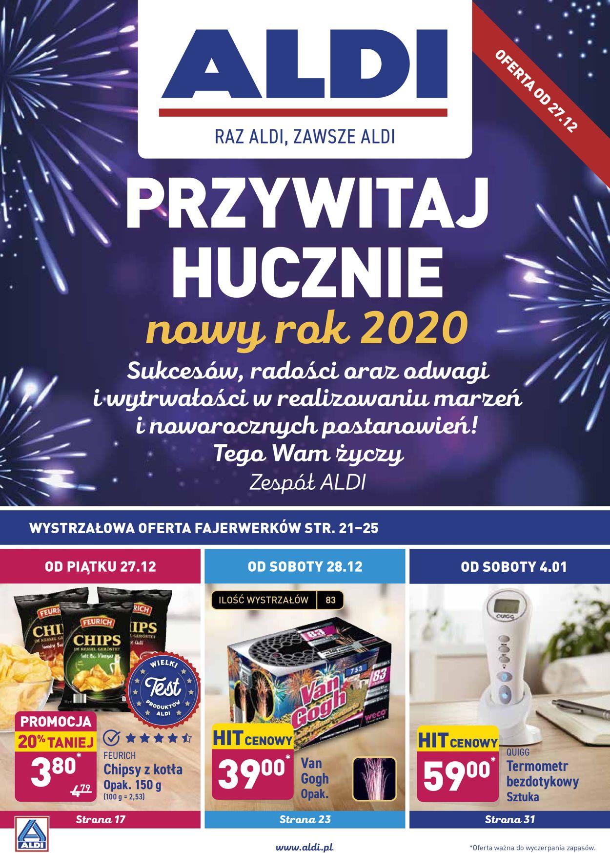 Gazetka promocyjna ALDI - Gazetka Sylwestrowa 2019/2020 - 27.12-07.01.2020