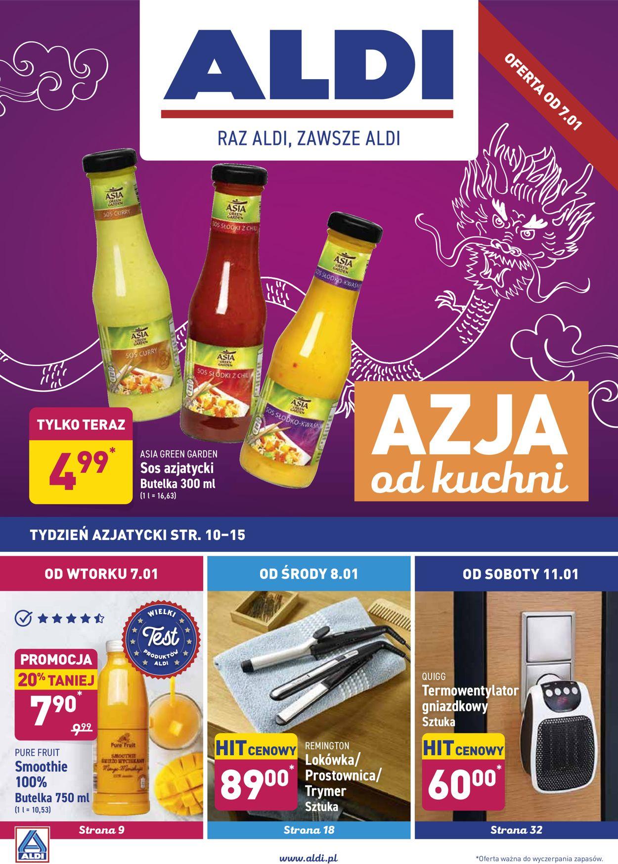 Gazetka promocyjna ALDI - 07.01-13.01.2020