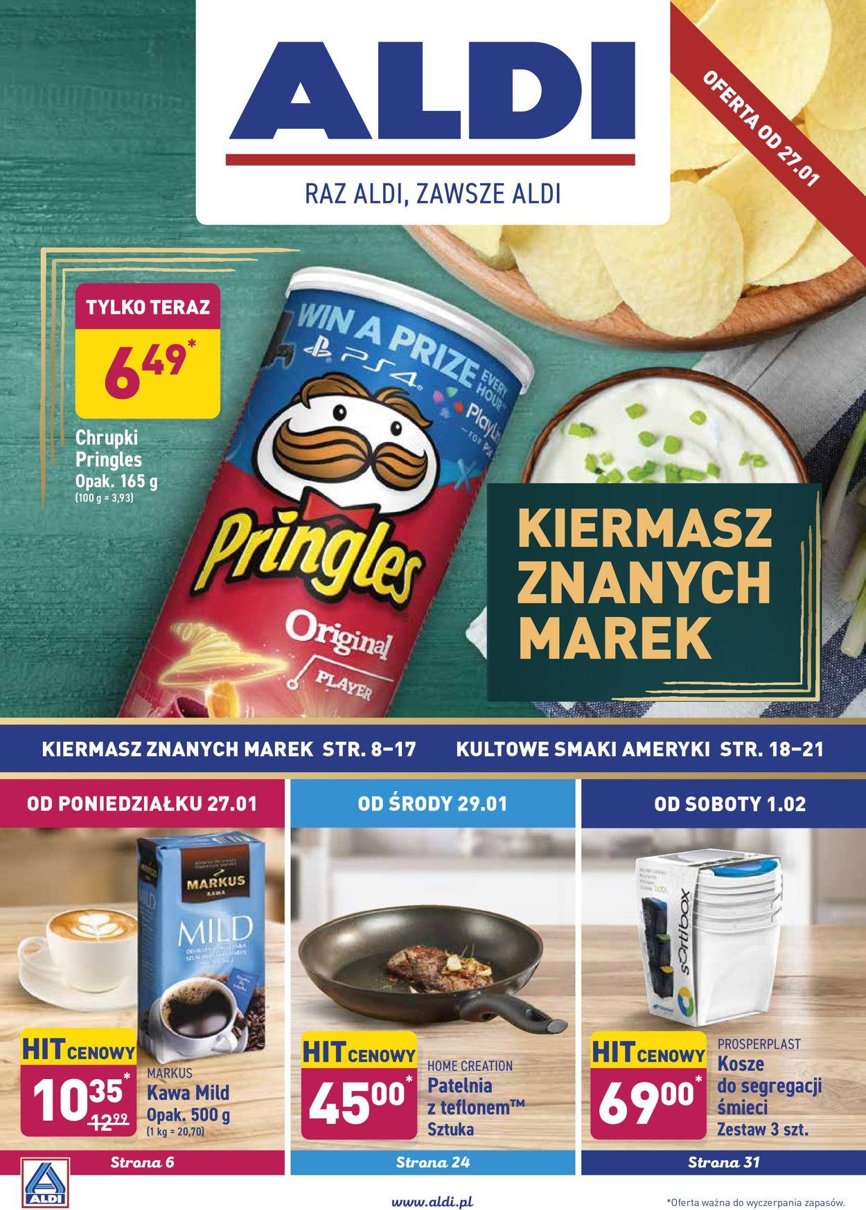 Gazetka promocyjna ALDI - 27.01-02.02.2020