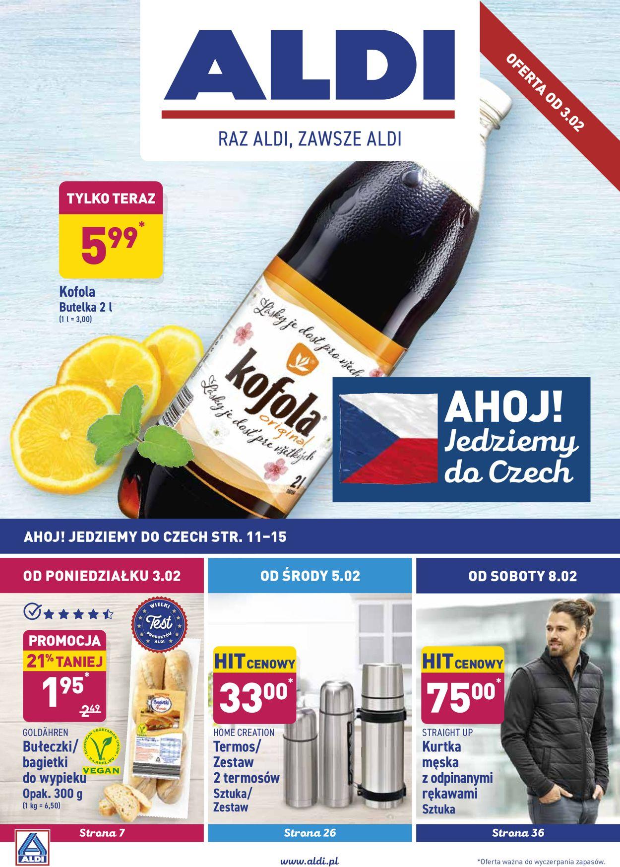 Gazetka promocyjna ALDI - 03.02-09.02.2020