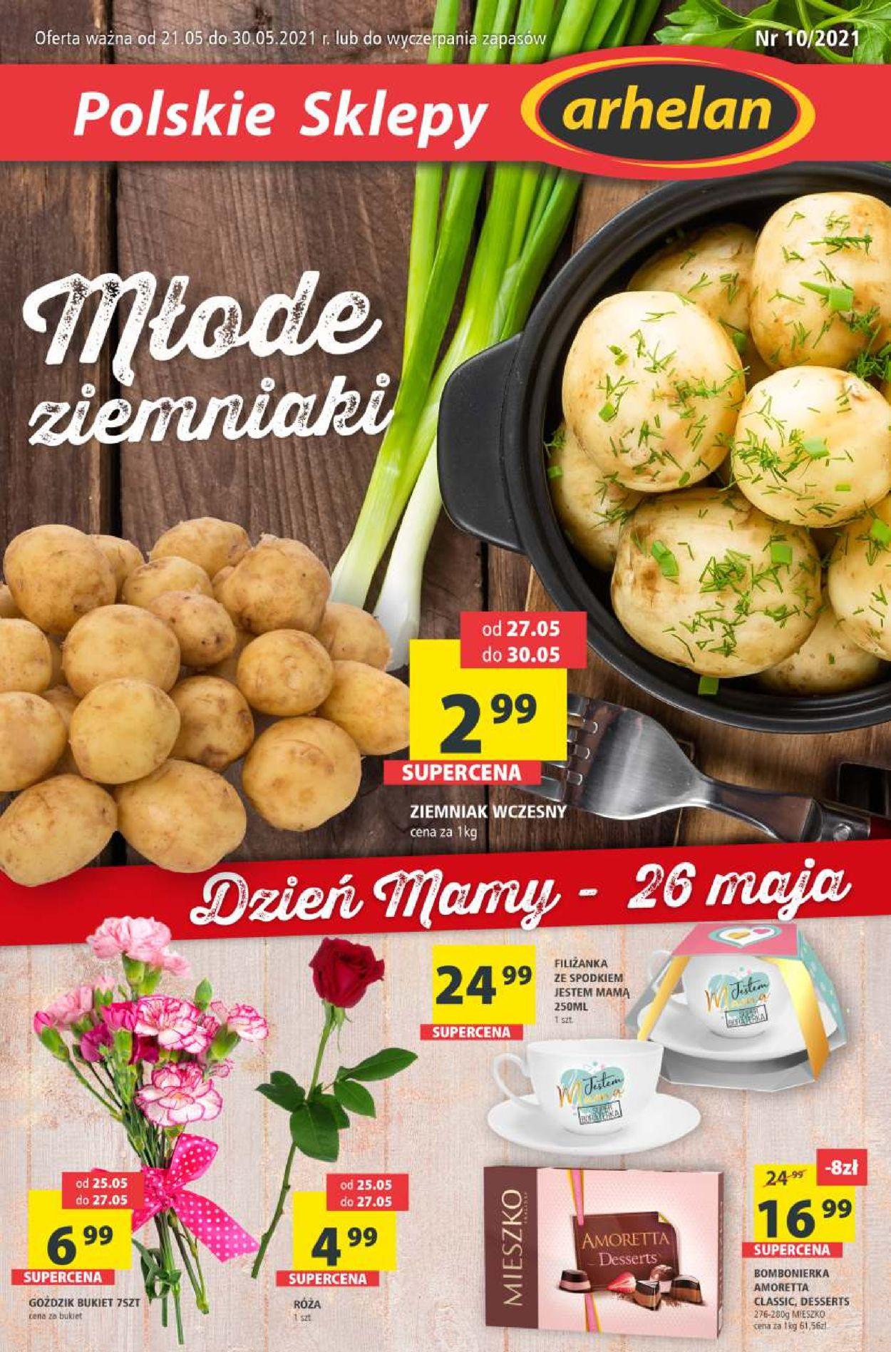 Gazetka promocyjna arhelan Dzień Matki 2021 - 21.05-30.05.2021