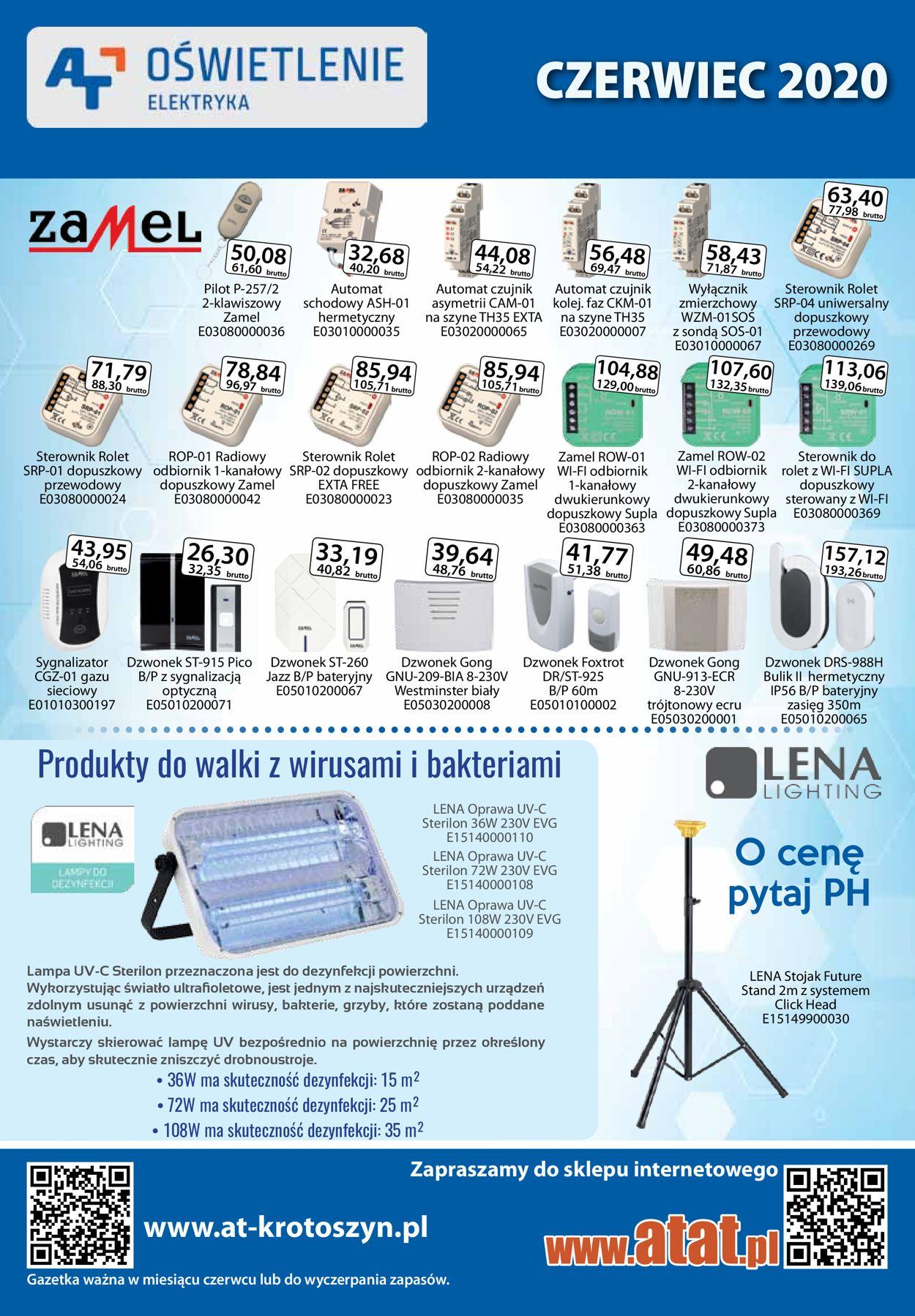 Gazetka promocyjna AT - 01.06-30.06.2020
