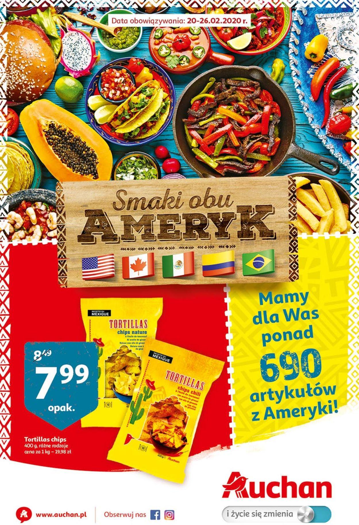 Gazetka promocyjna Auchan - 20.02-26.02.2020