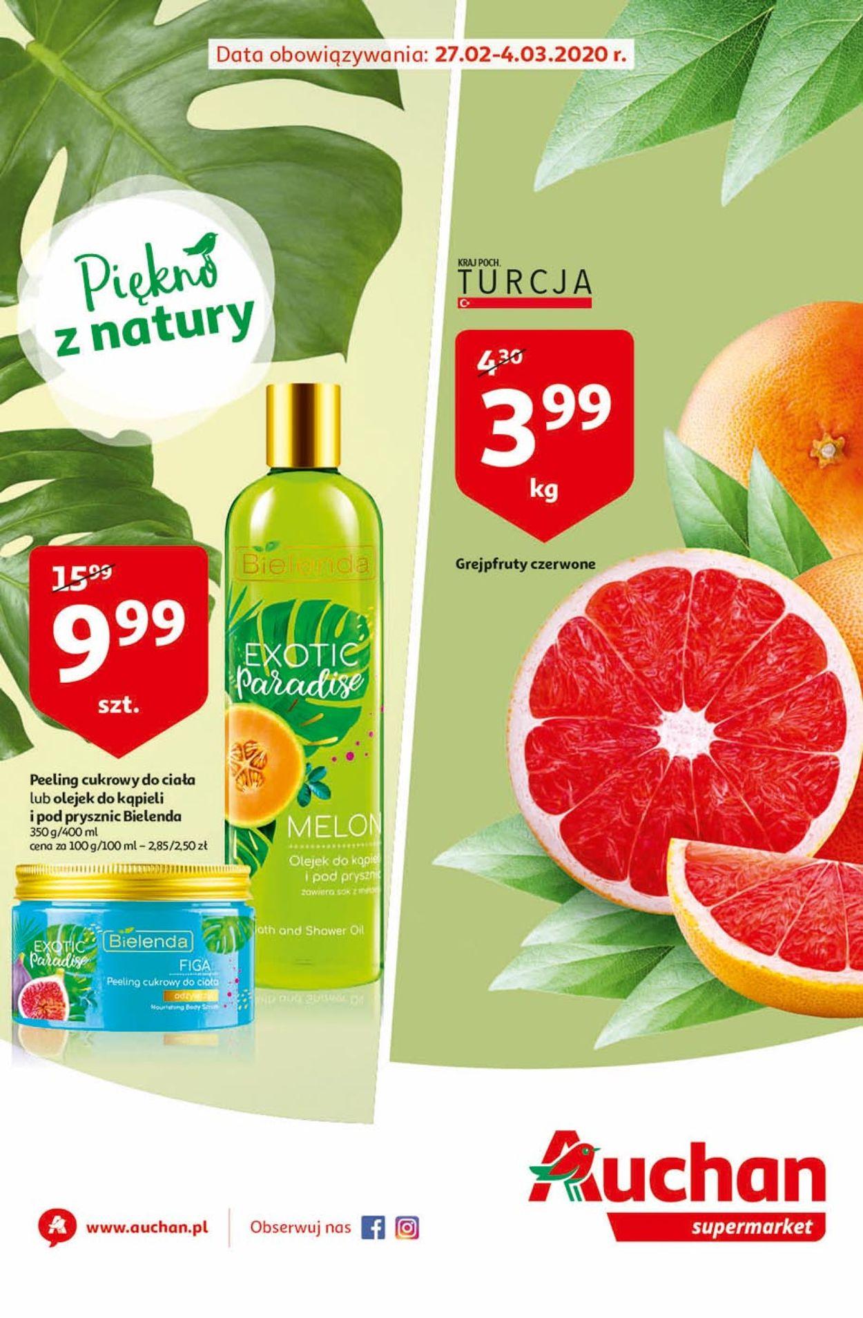 Gazetka promocyjna Auchan - 27.02-04.03.2020