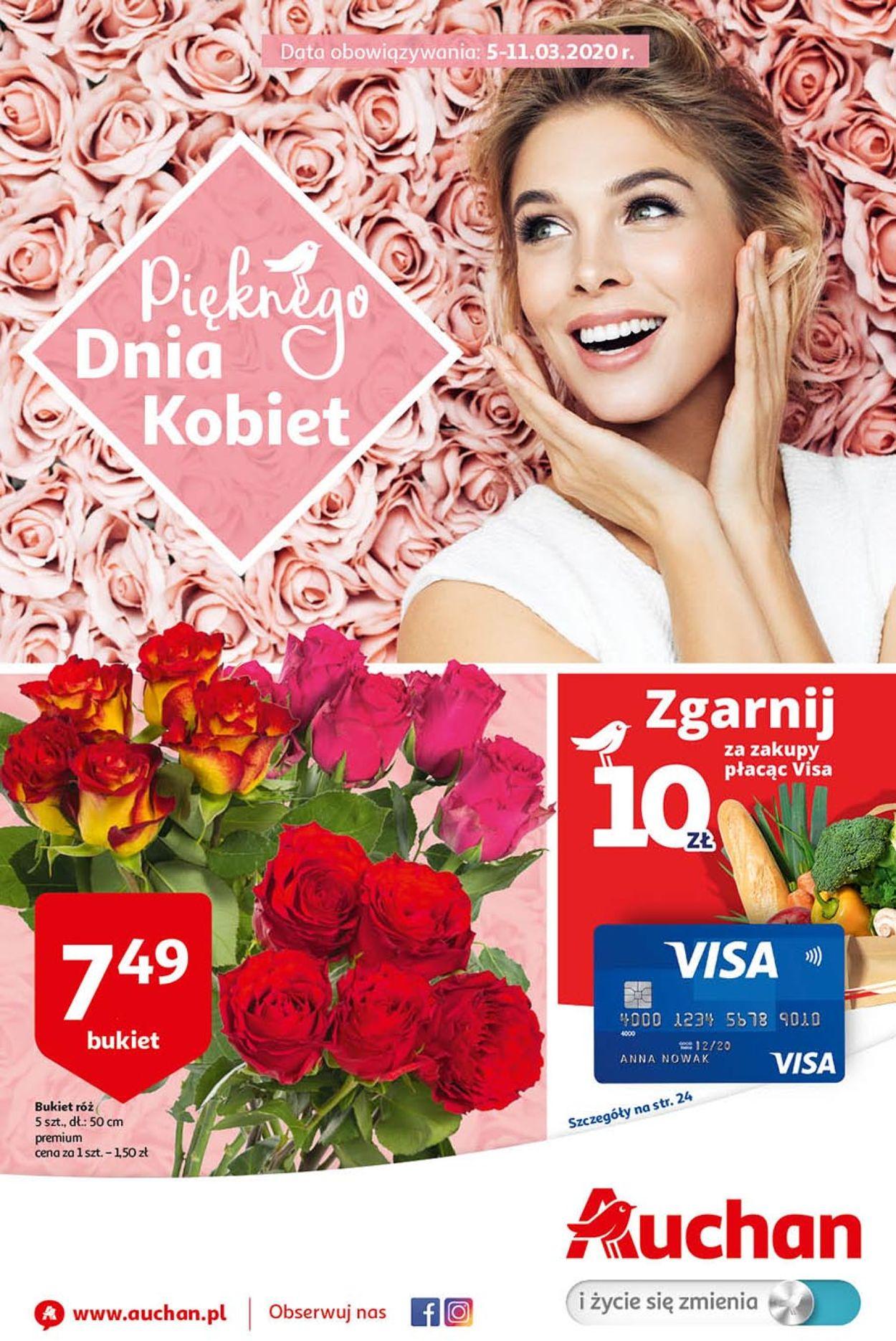 Gazetka promocyjna Auchan - 05.03-11.03.2020