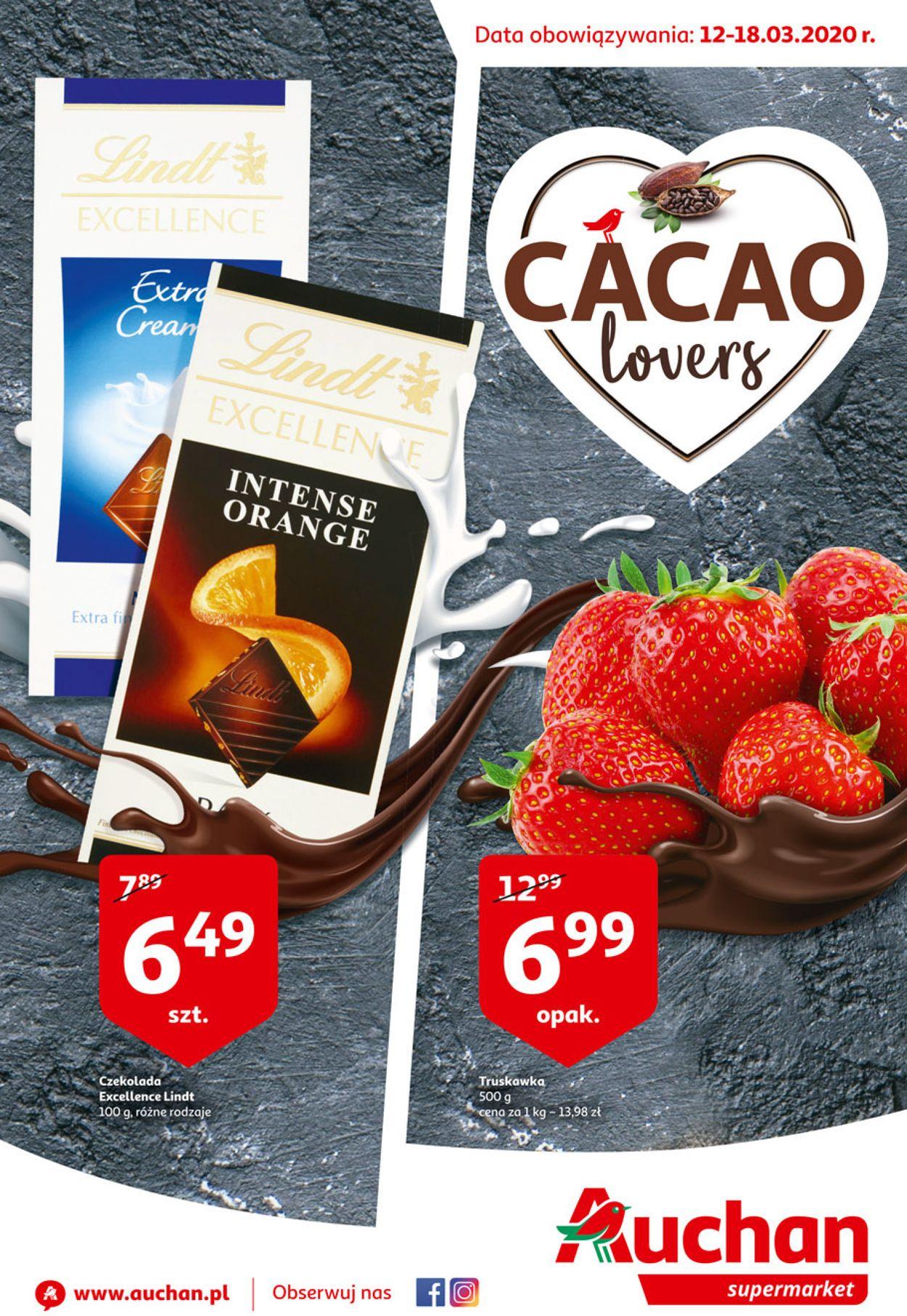 Gazetka promocyjna Auchan - 12.03-18.03.2020
