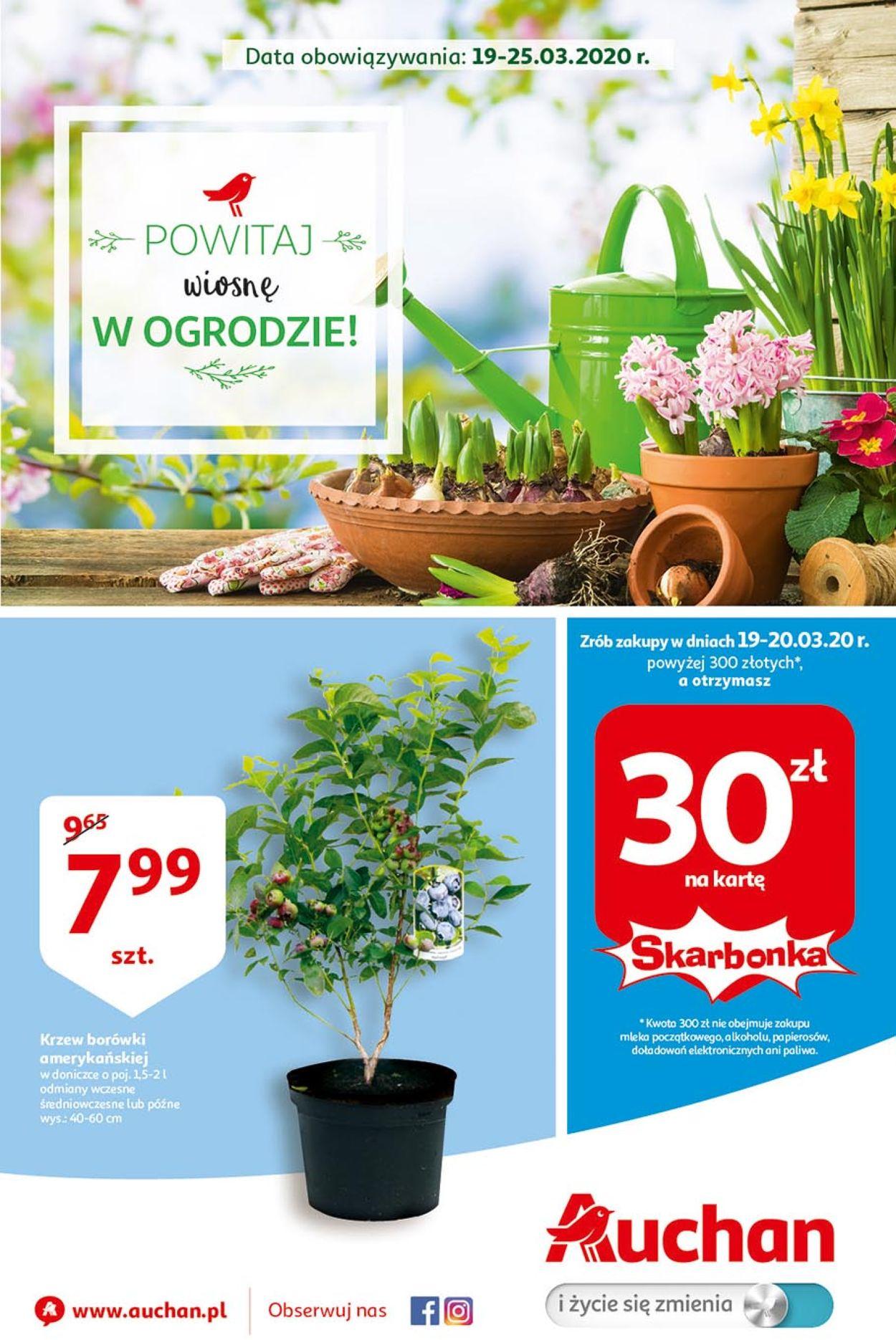 Gazetka promocyjna Auchan - 19.03-25.03.2020