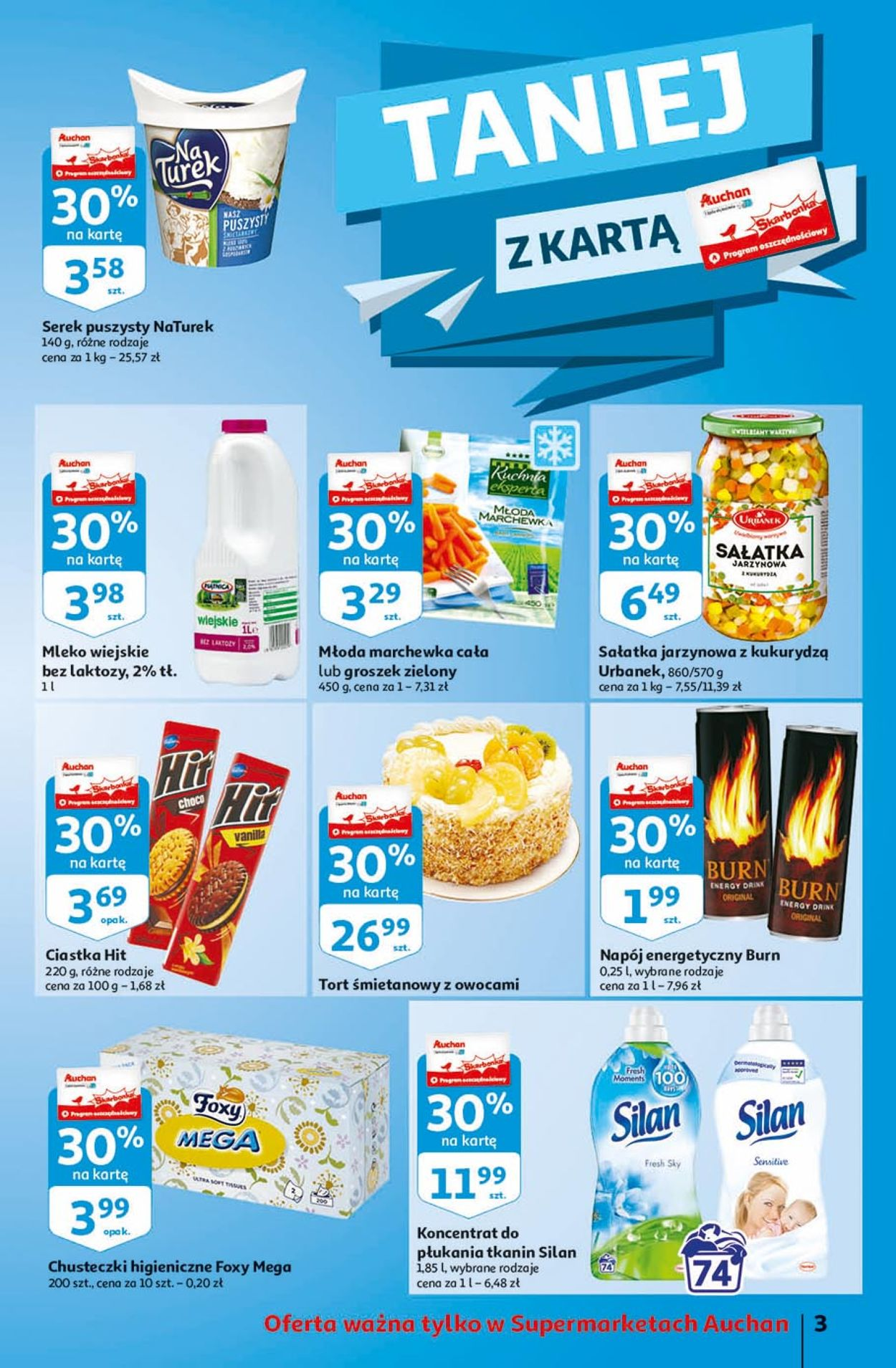 Gazetka promocyjna Auchan - 19.03-25.03.2020 (Strona 3)