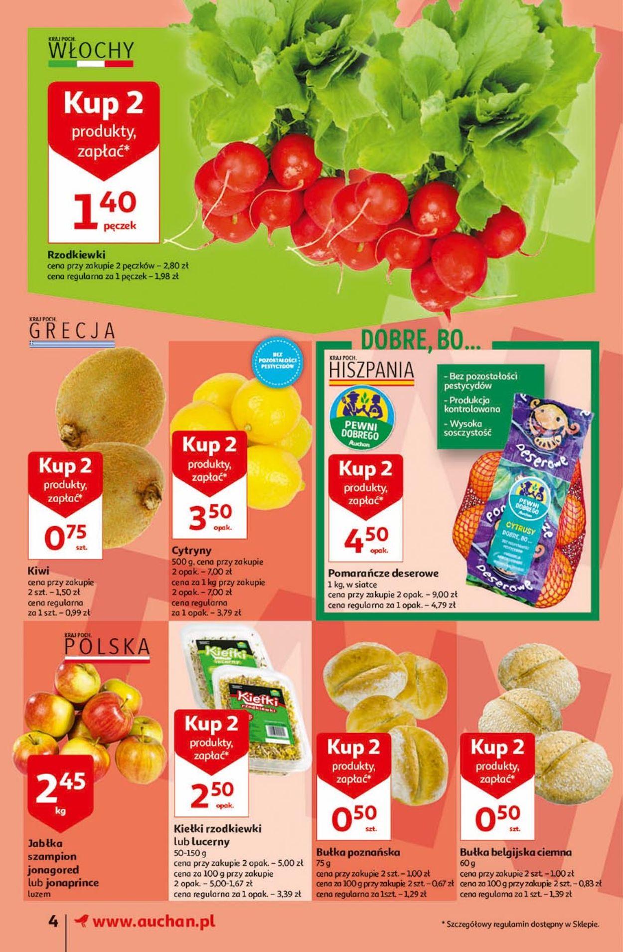 Gazetka promocyjna Auchan - 19.03-25.03.2020 (Strona 4)