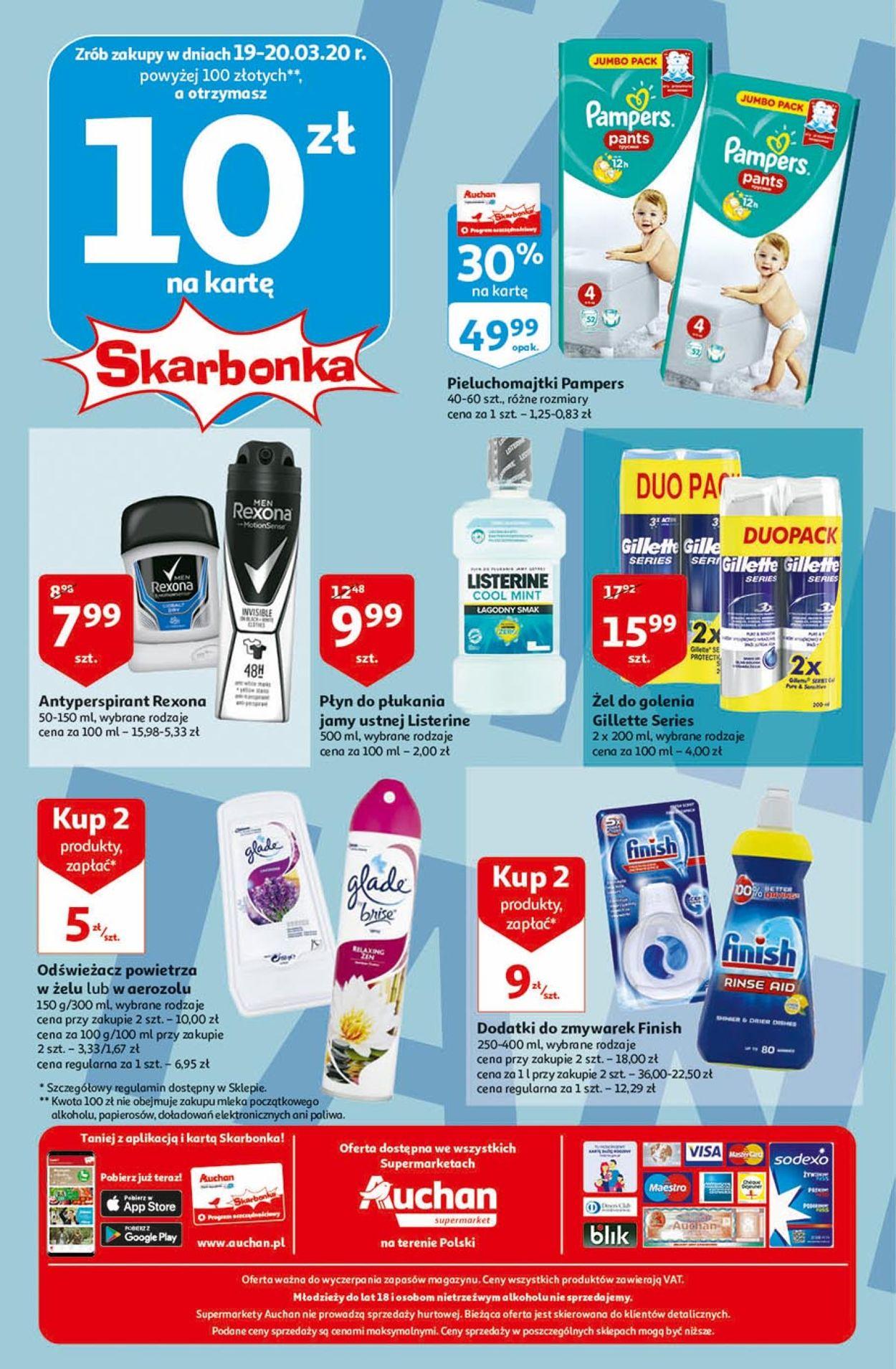 Gazetka promocyjna Auchan - 19.03-25.03.2020 (Strona 8)