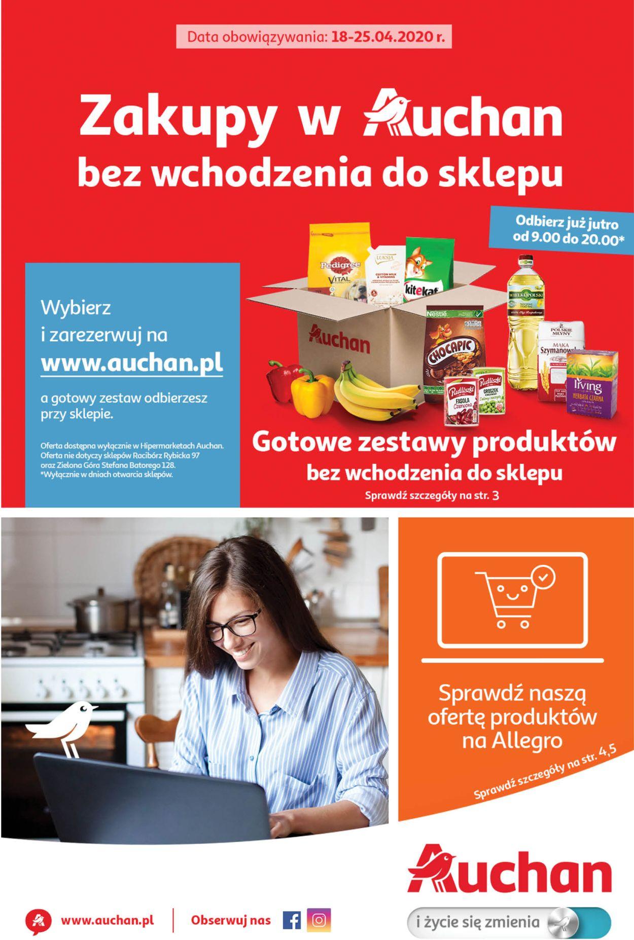 Gazetka promocyjna Auchan - 18.04-25.04.2020