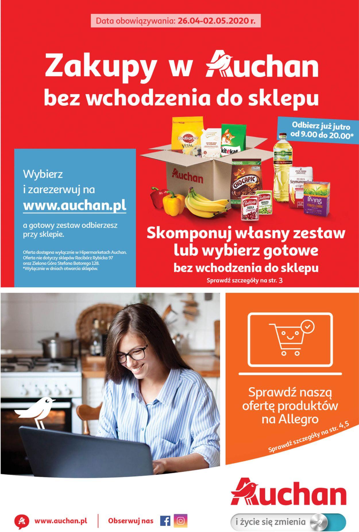 Gazetka promocyjna Auchan - 26.04-02.05.2020
