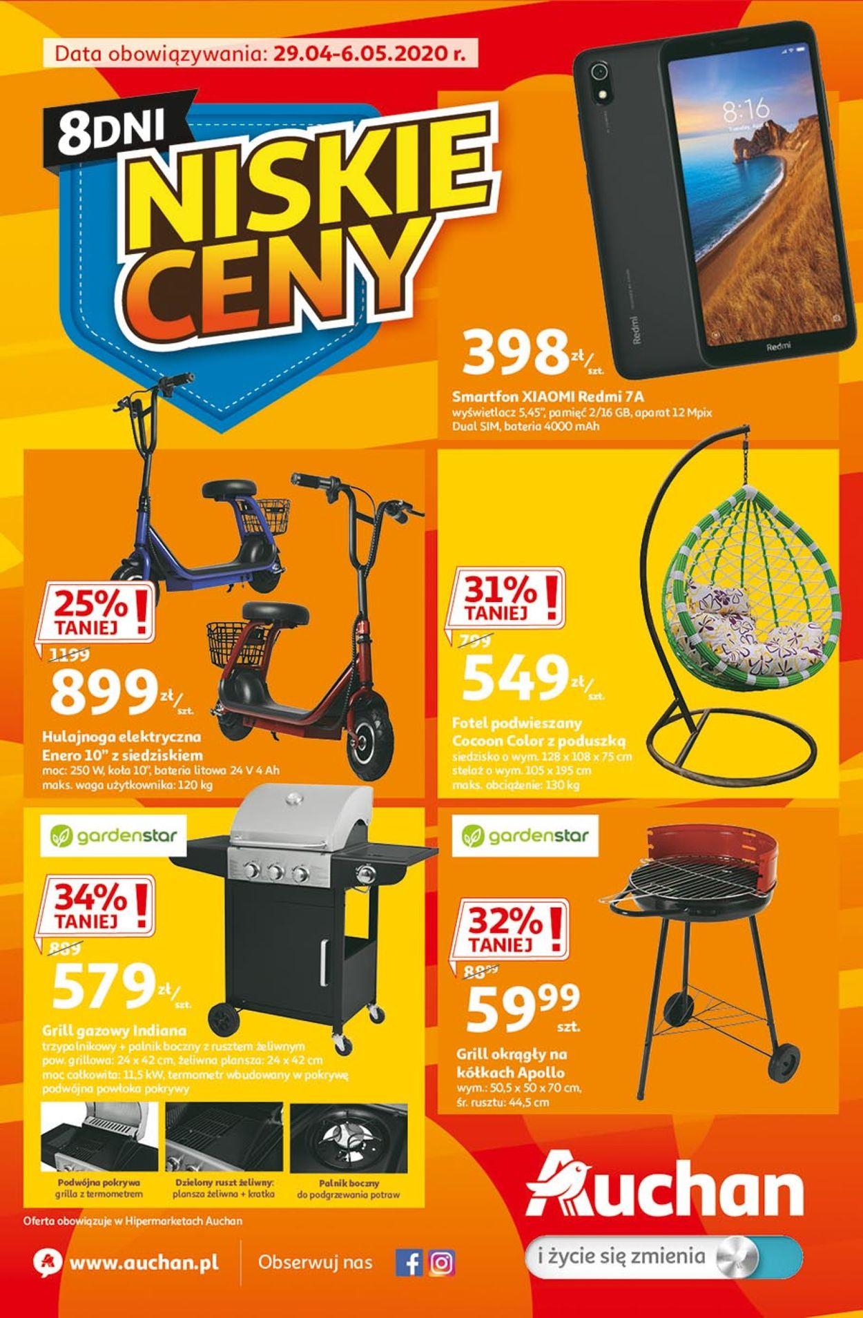 Gazetka promocyjna Auchan - 29.04-06.05.2020