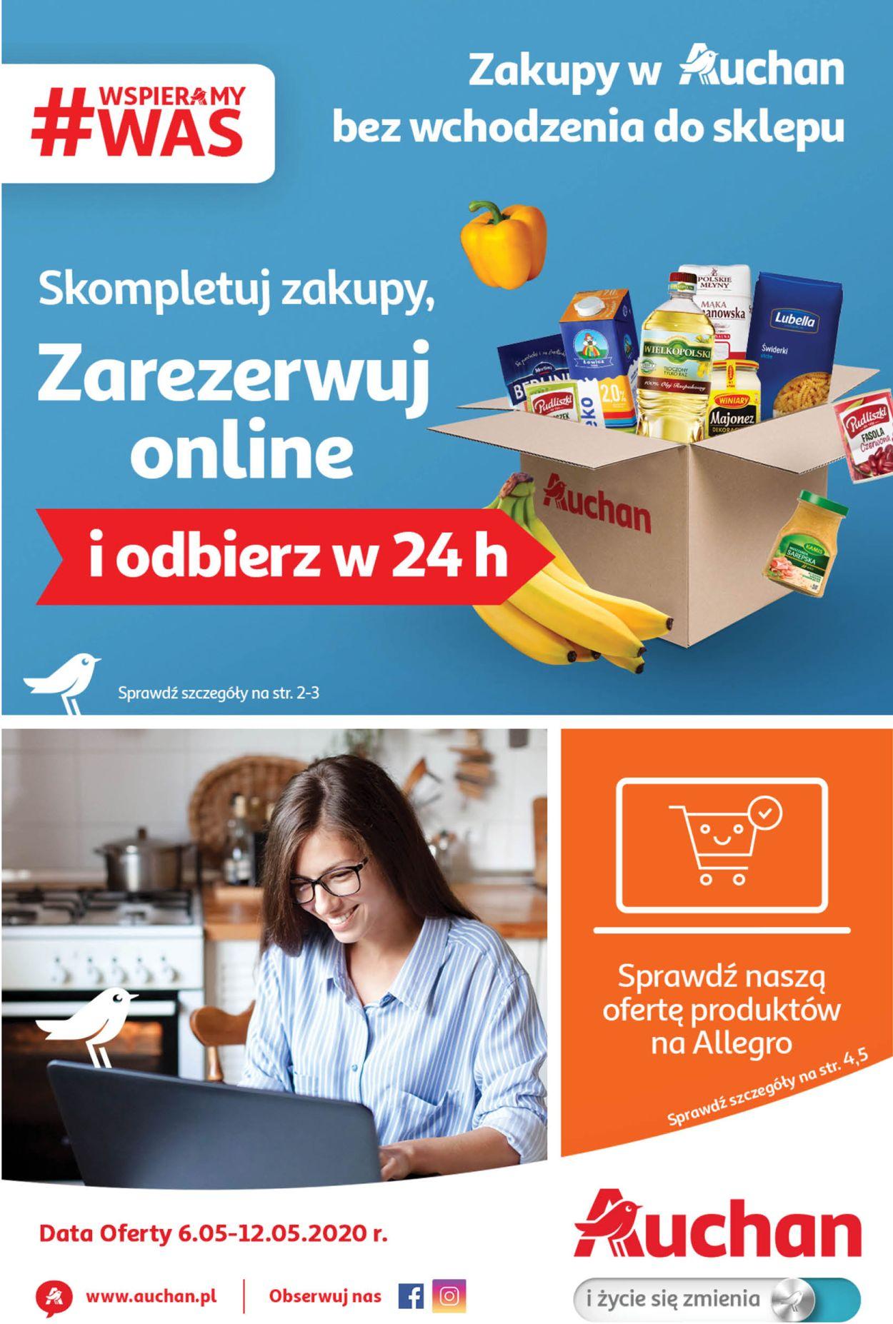 Gazetka promocyjna Auchan - 06.05-12.05.2020
