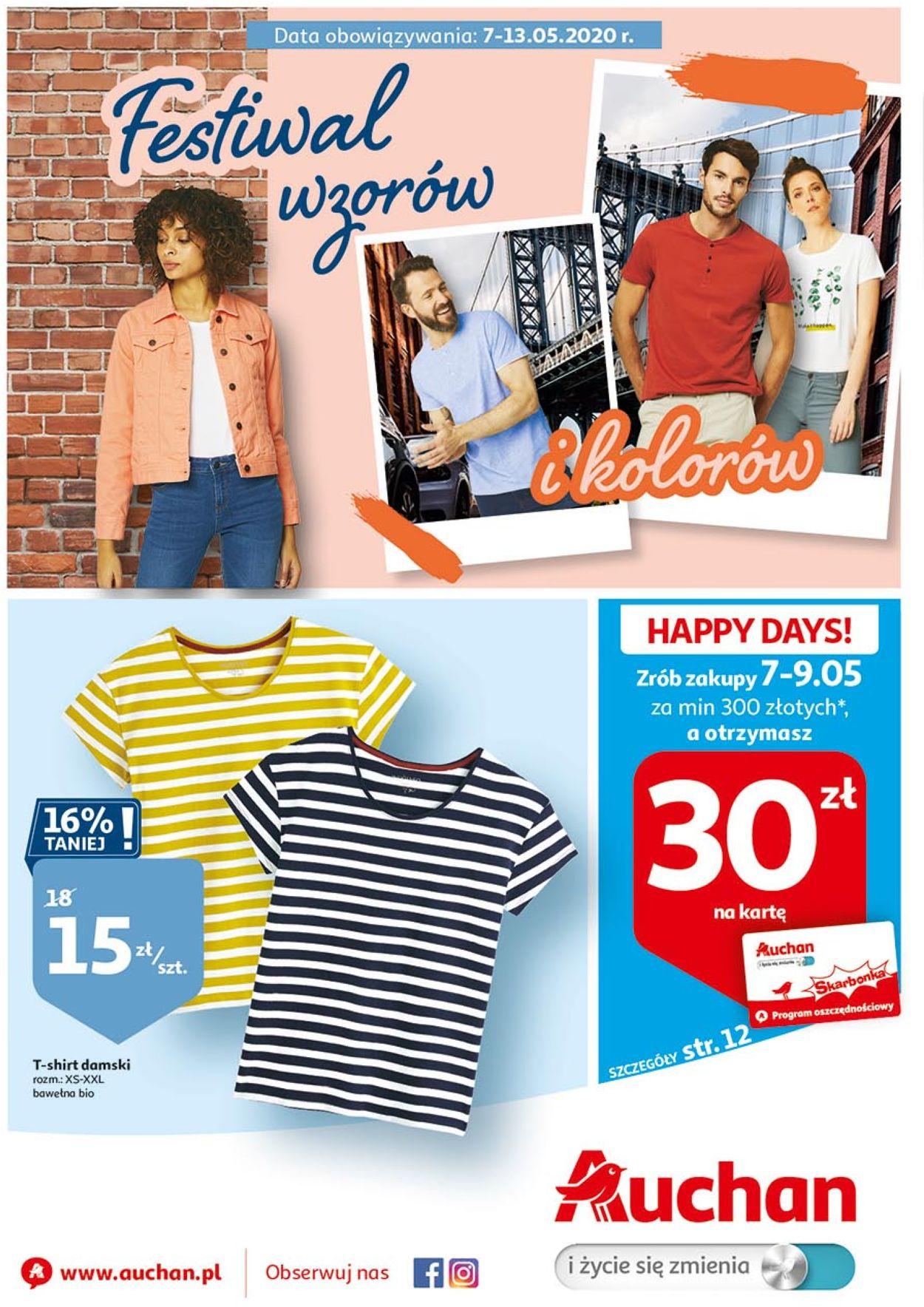 Gazetka promocyjna Auchan - 07.05-13.05.2020