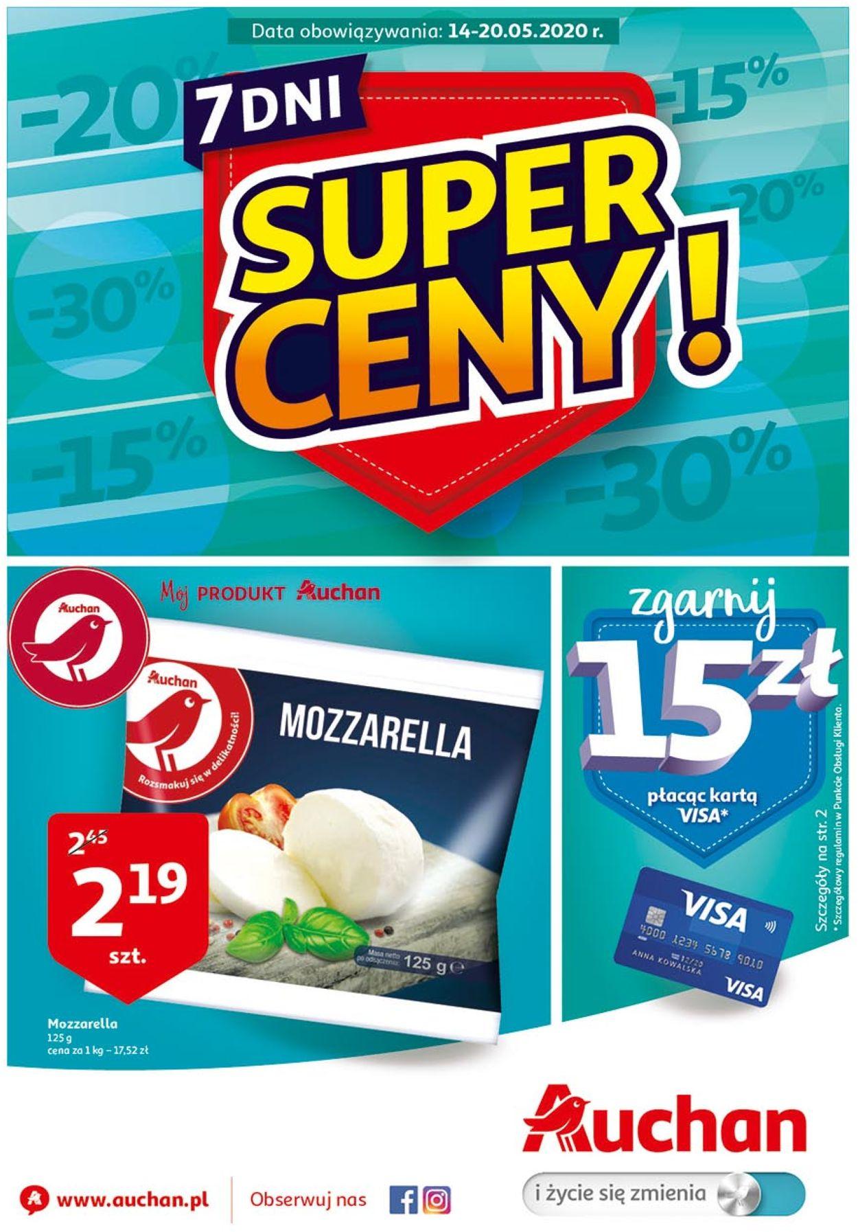 Gazetka promocyjna Auchan - 14.05-20.05.2020