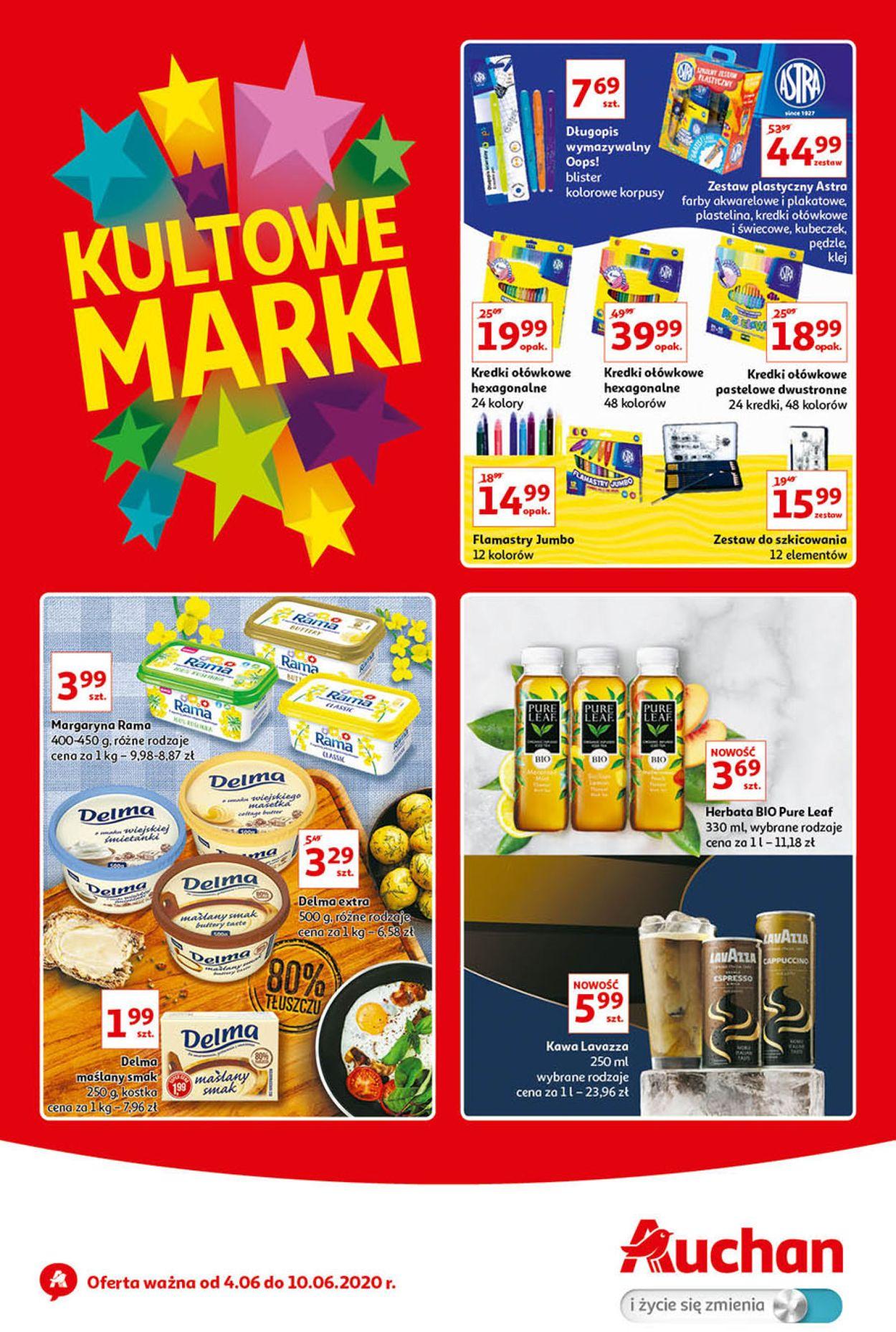Gazetka promocyjna Auchan - 04.06-10.06.2020