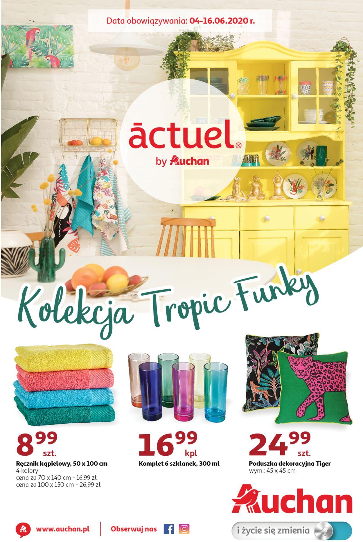 Gazetka promocyjna Auchan - 04.06-16.06.2020
