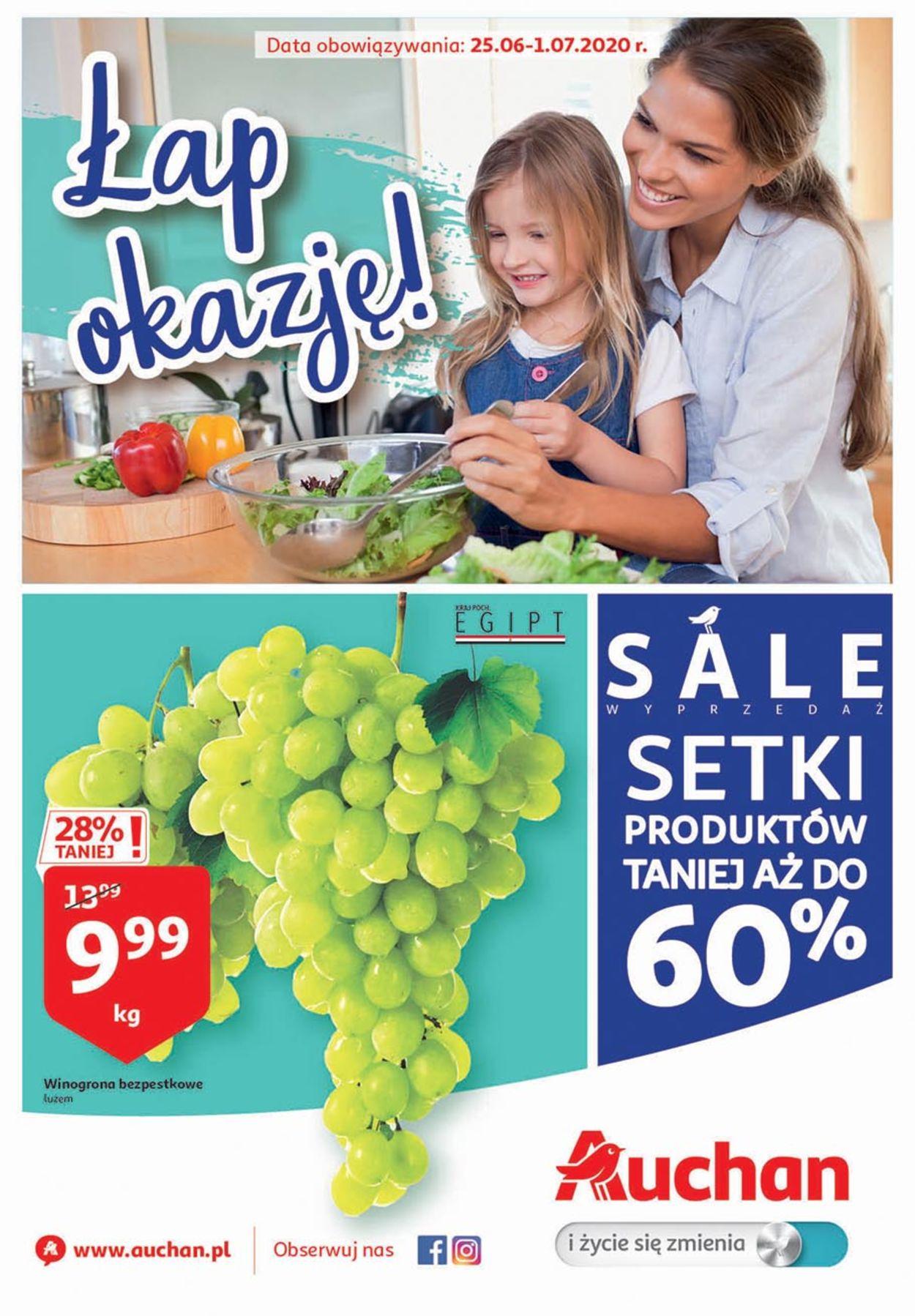 Gazetka promocyjna Auchan - 25.06-01.07.2020