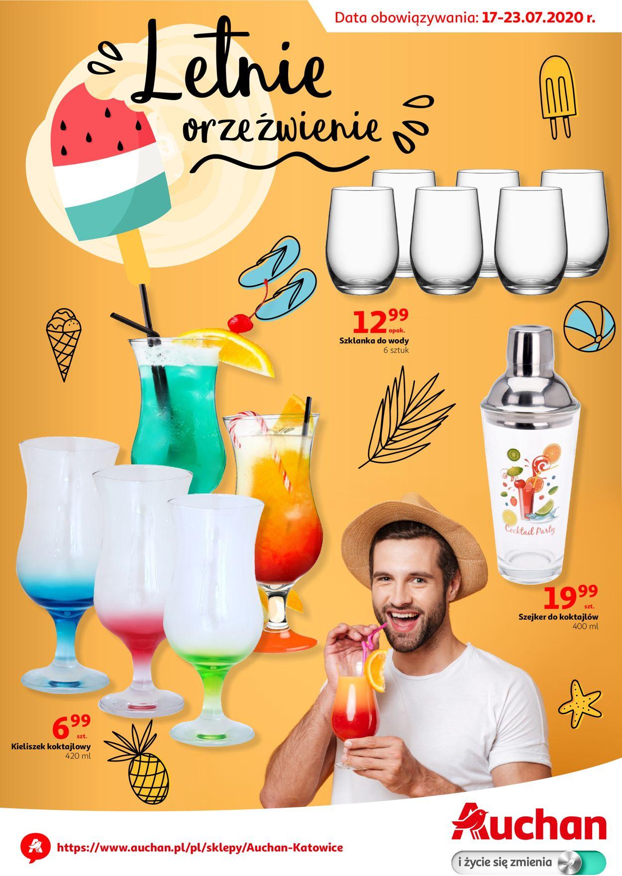 Gazetka promocyjna Auchan - 17.07-23.07.2020
