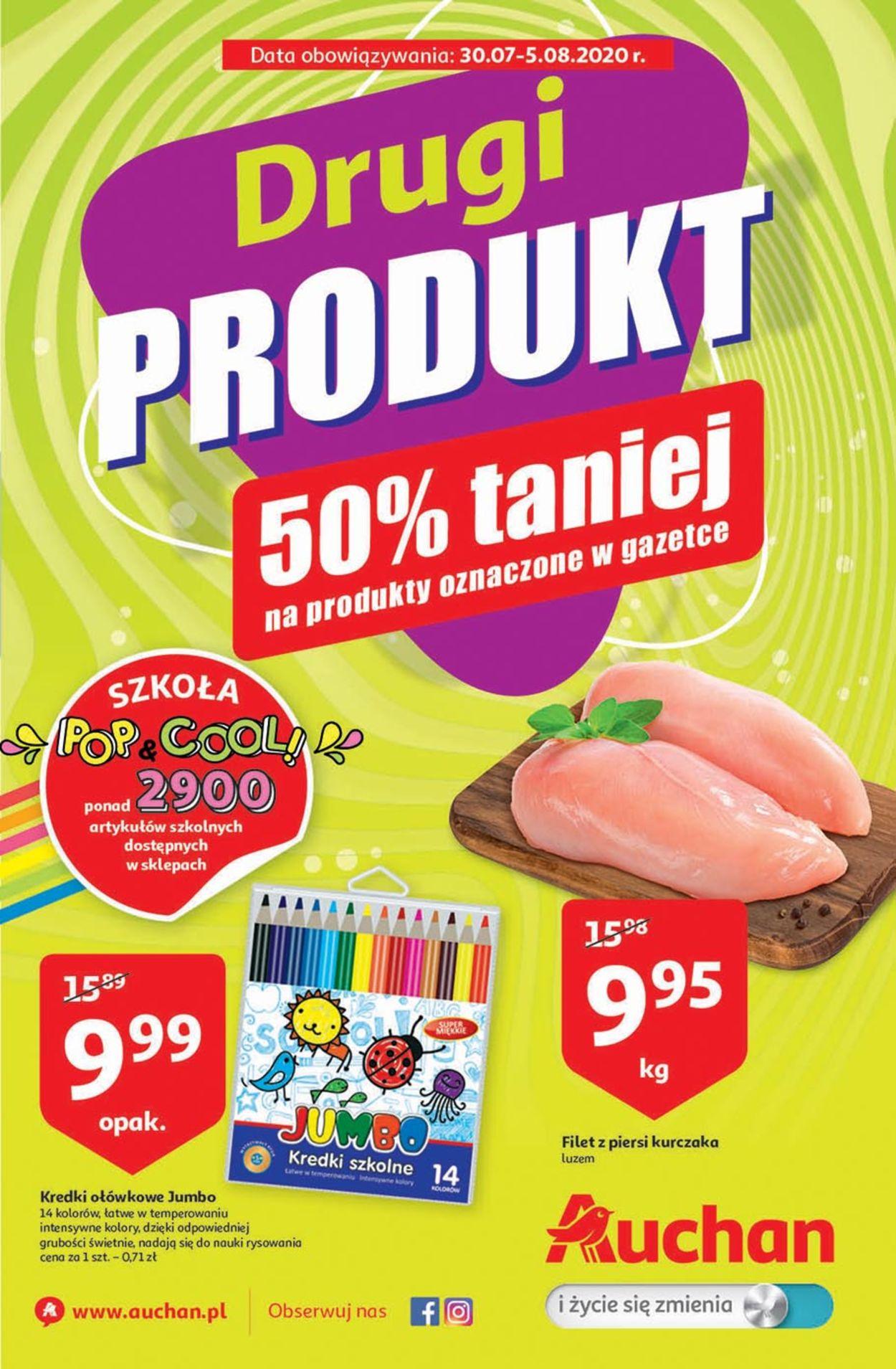 Gazetka promocyjna Auchan - 30.07-05.08.2020