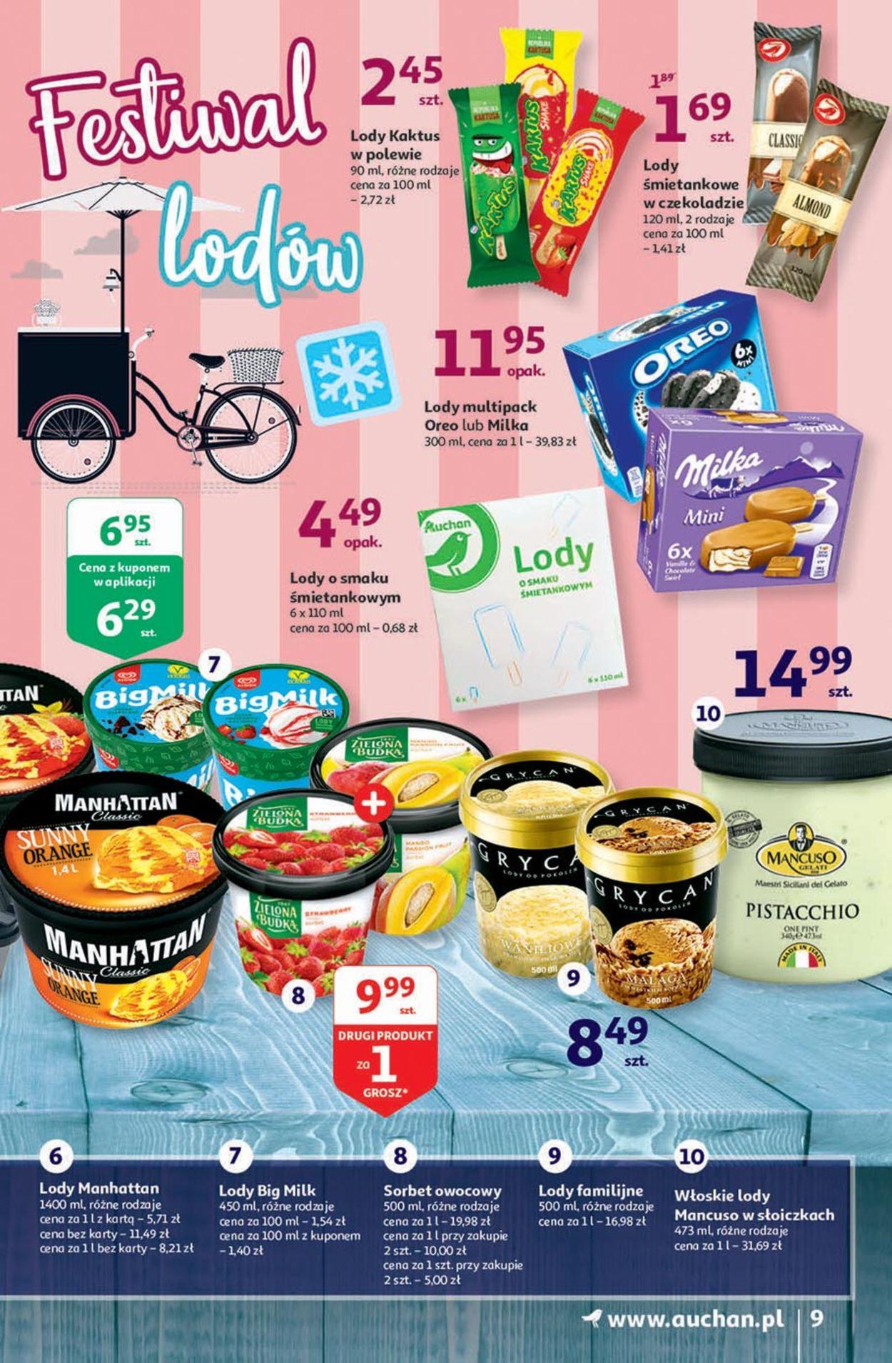 Gazetka promocyjna Auchan - 30.07-05.08.2020 (Strona 9)