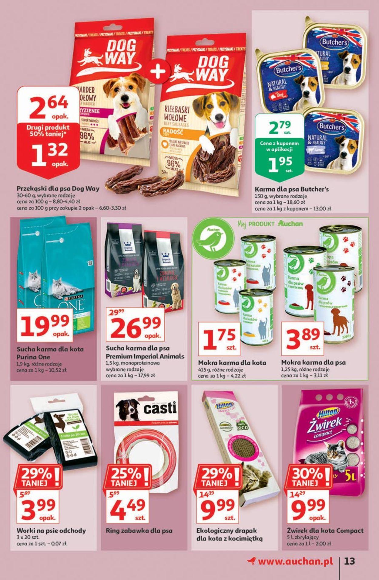 Gazetka promocyjna Auchan - 30.07-05.08.2020 (Strona 13)