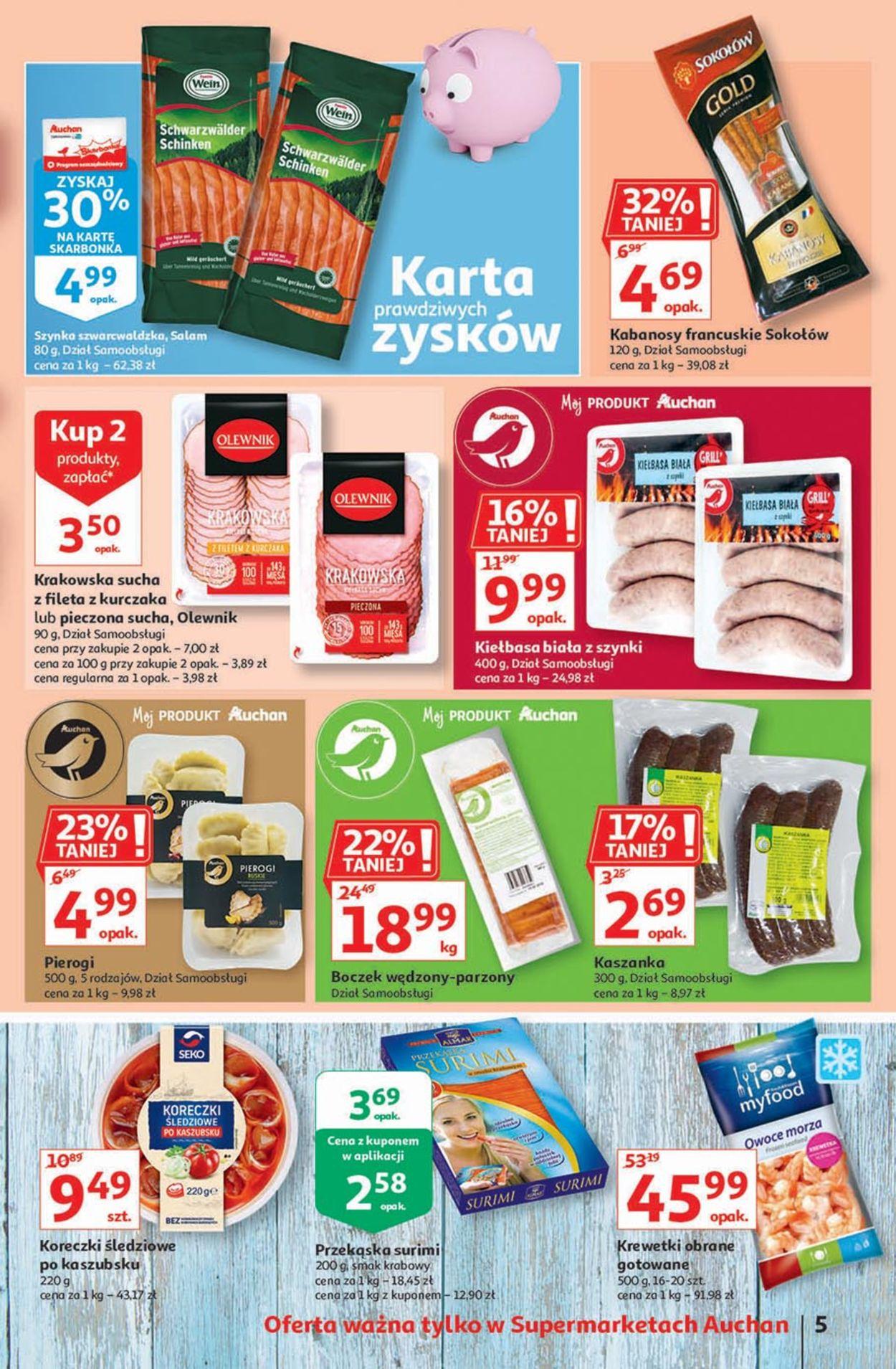 Gazetka promocyjna Auchan - 06.08-12.08.2020 (Strona 5)