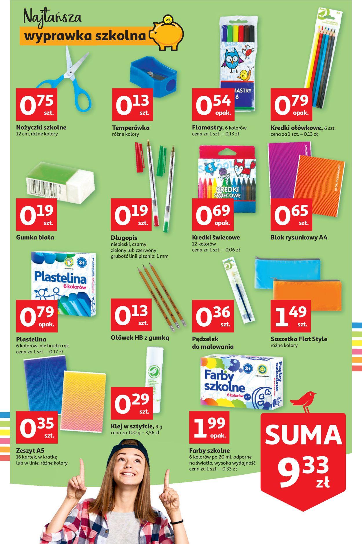 Gazetka promocyjna Auchan - 13.08-19.08.2020