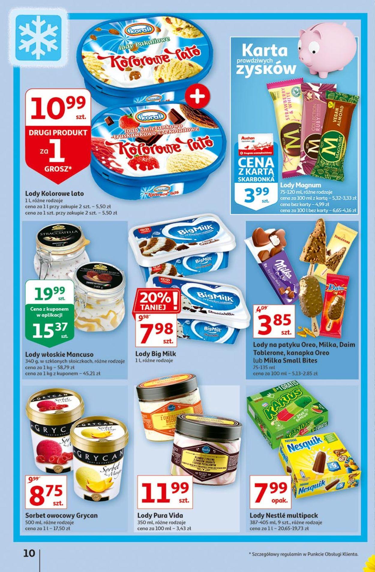 Gazetka promocyjna Auchan - 13.08-19.08.2020 (Strona 10)