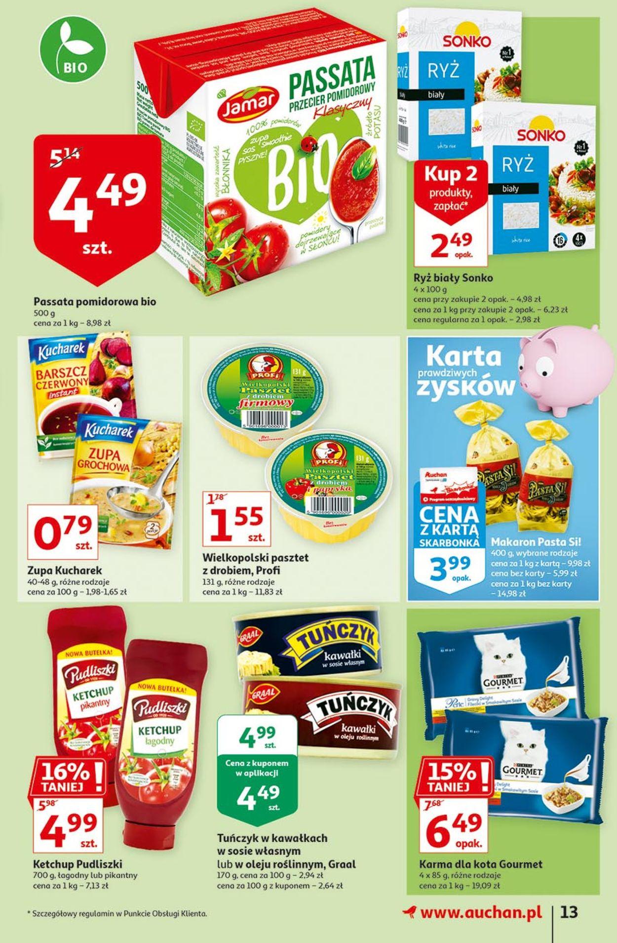 Gazetka promocyjna Auchan - 13.08-19.08.2020 (Strona 13)