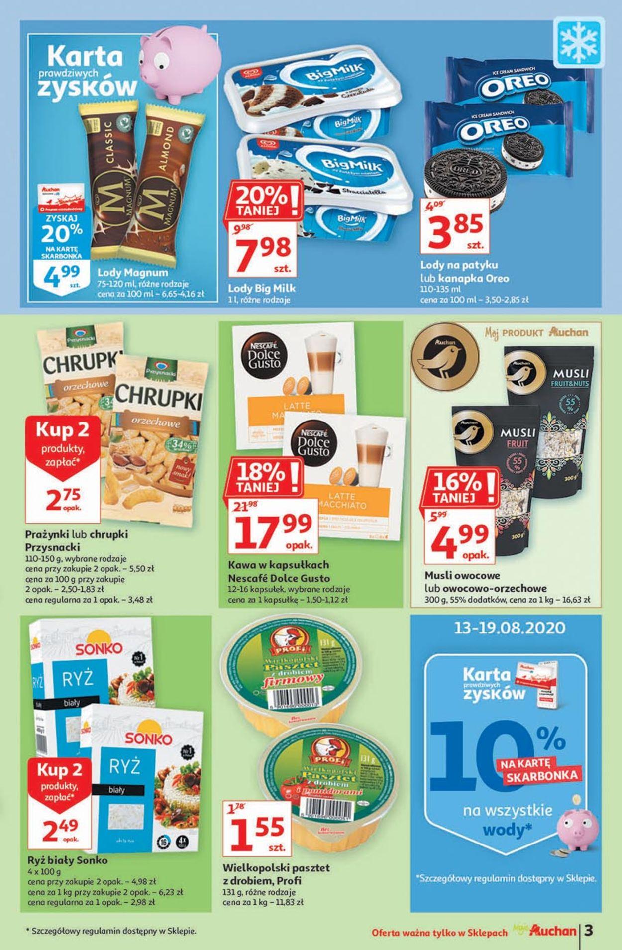 Gazetka promocyjna Auchan - 13.08-19.08.2020 (Strona 3)