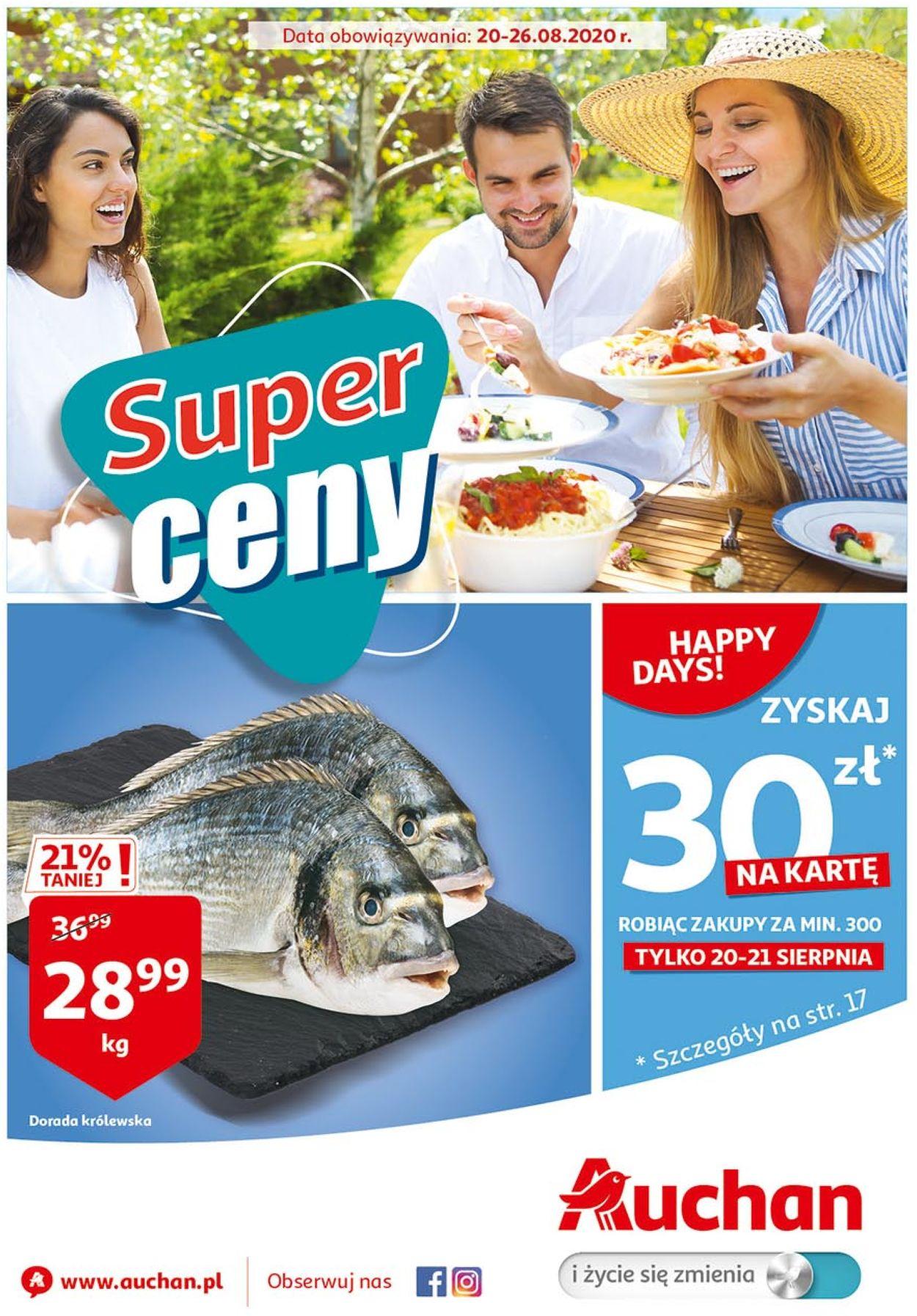 Gazetka promocyjna Auchan - 20.08-26.08.2020