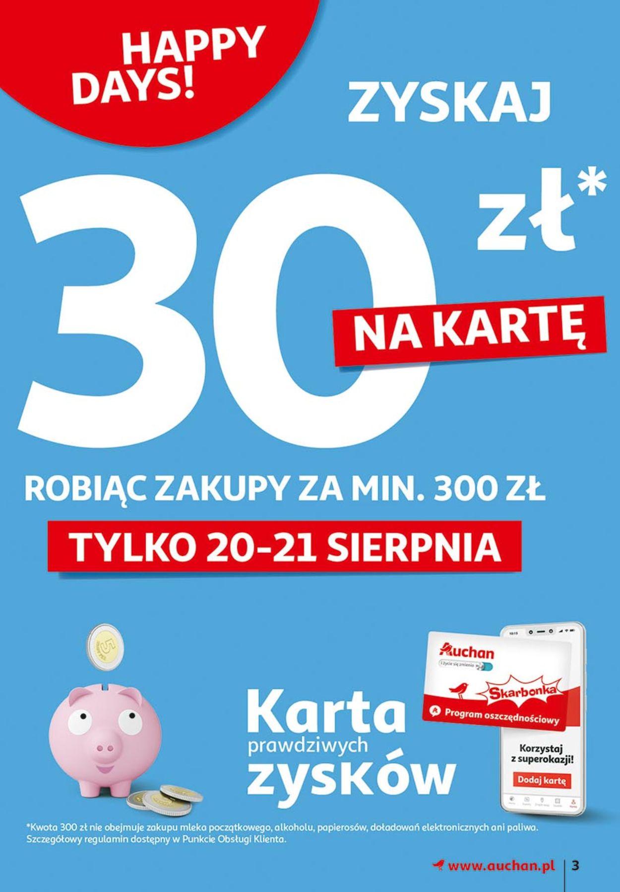 Gazetka promocyjna Auchan - 20.08-26.08.2020 (Strona 3)