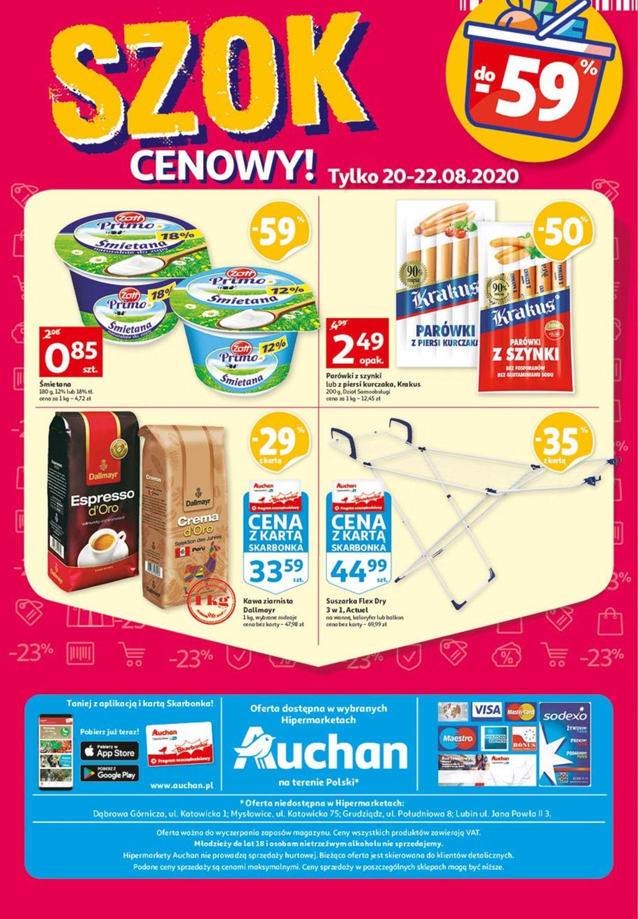 Gazetka promocyjna Auchan - 20.08-26.08.2020 (Strona 48)