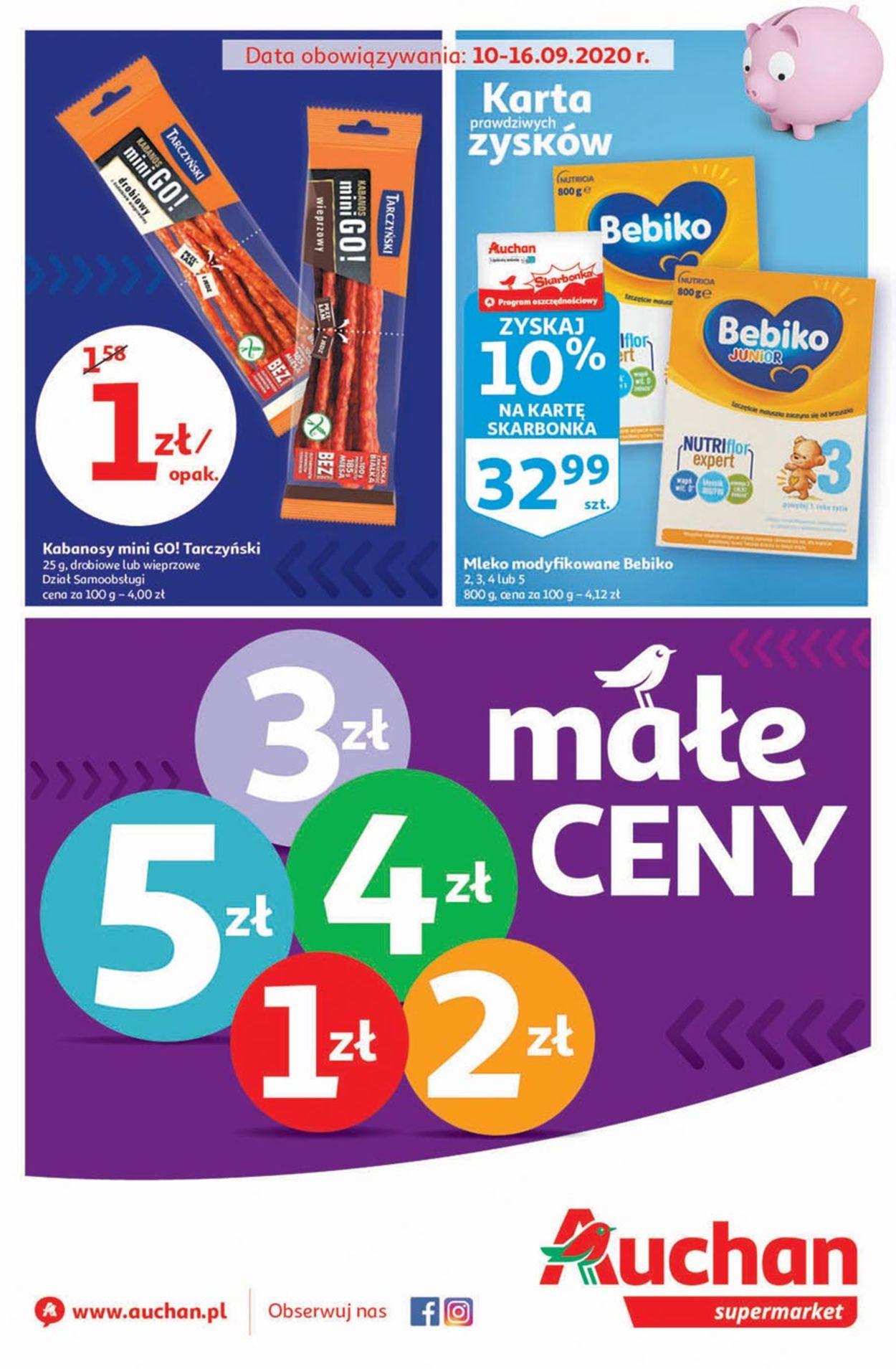 Gazetka promocyjna Auchan - 10.09-16.09.2020
