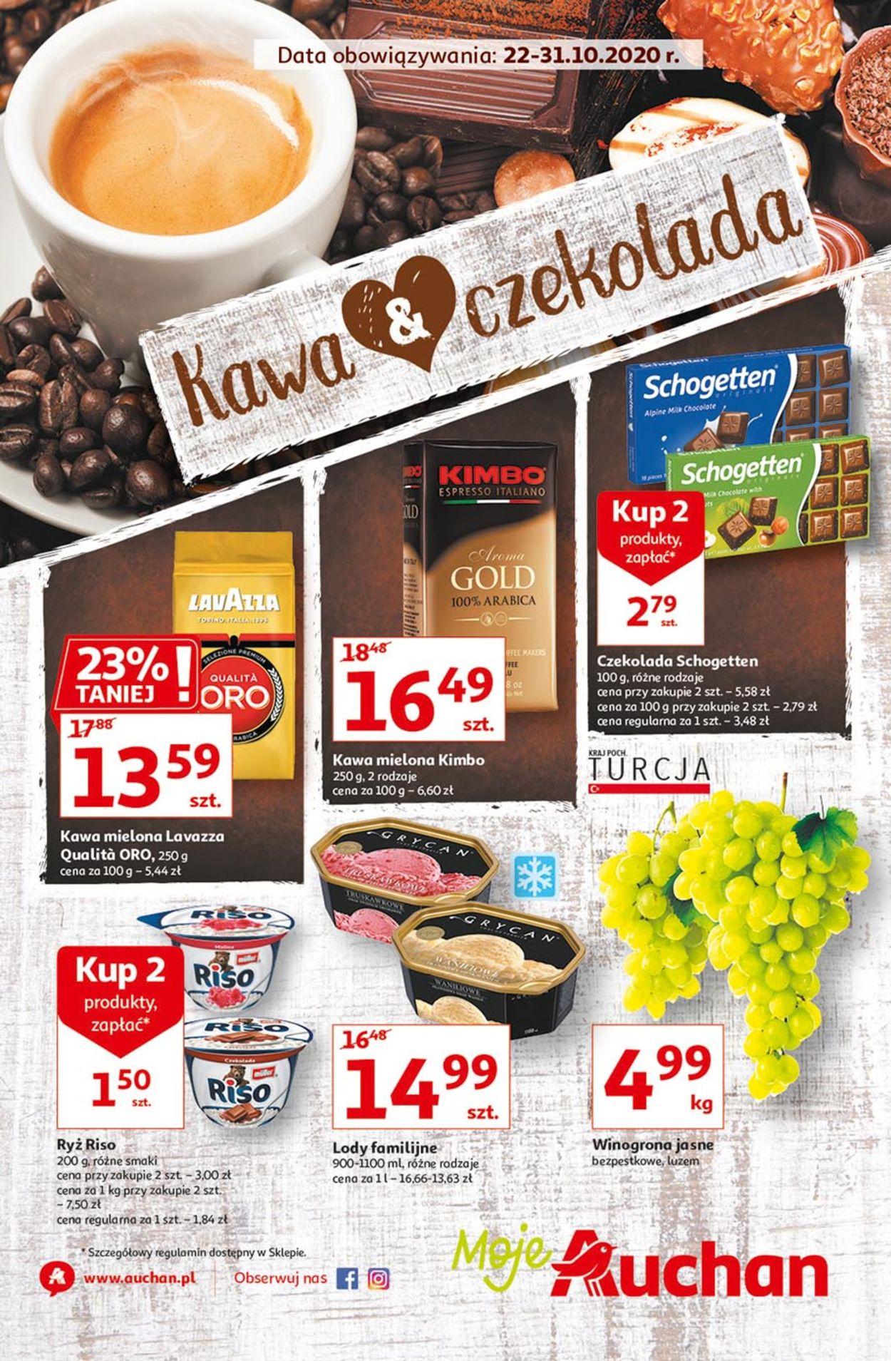 Gazetka promocyjna Auchan - 22.10-31.10.2020