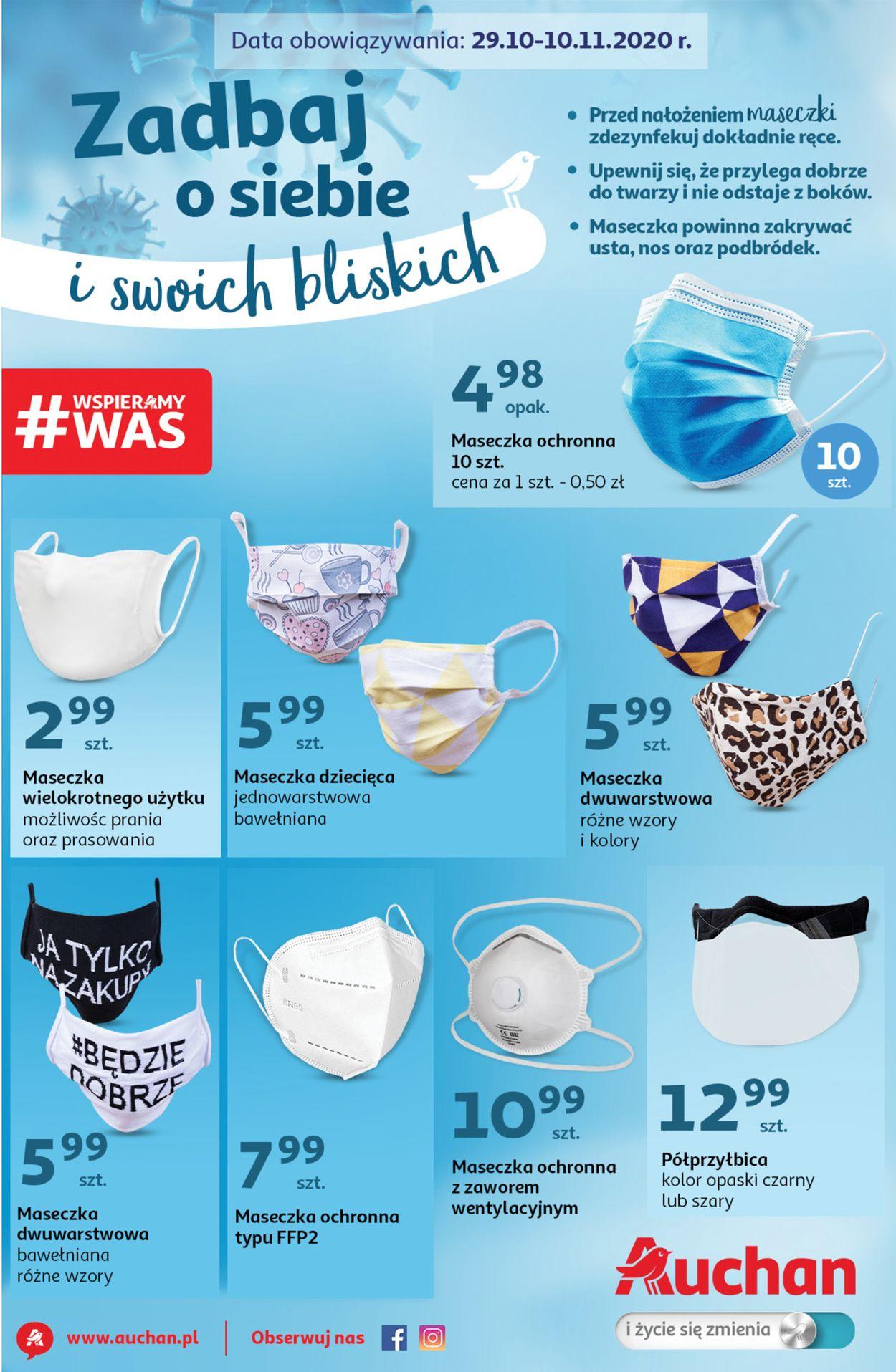 Gazetka promocyjna Auchan - 29.10-10.11.2020