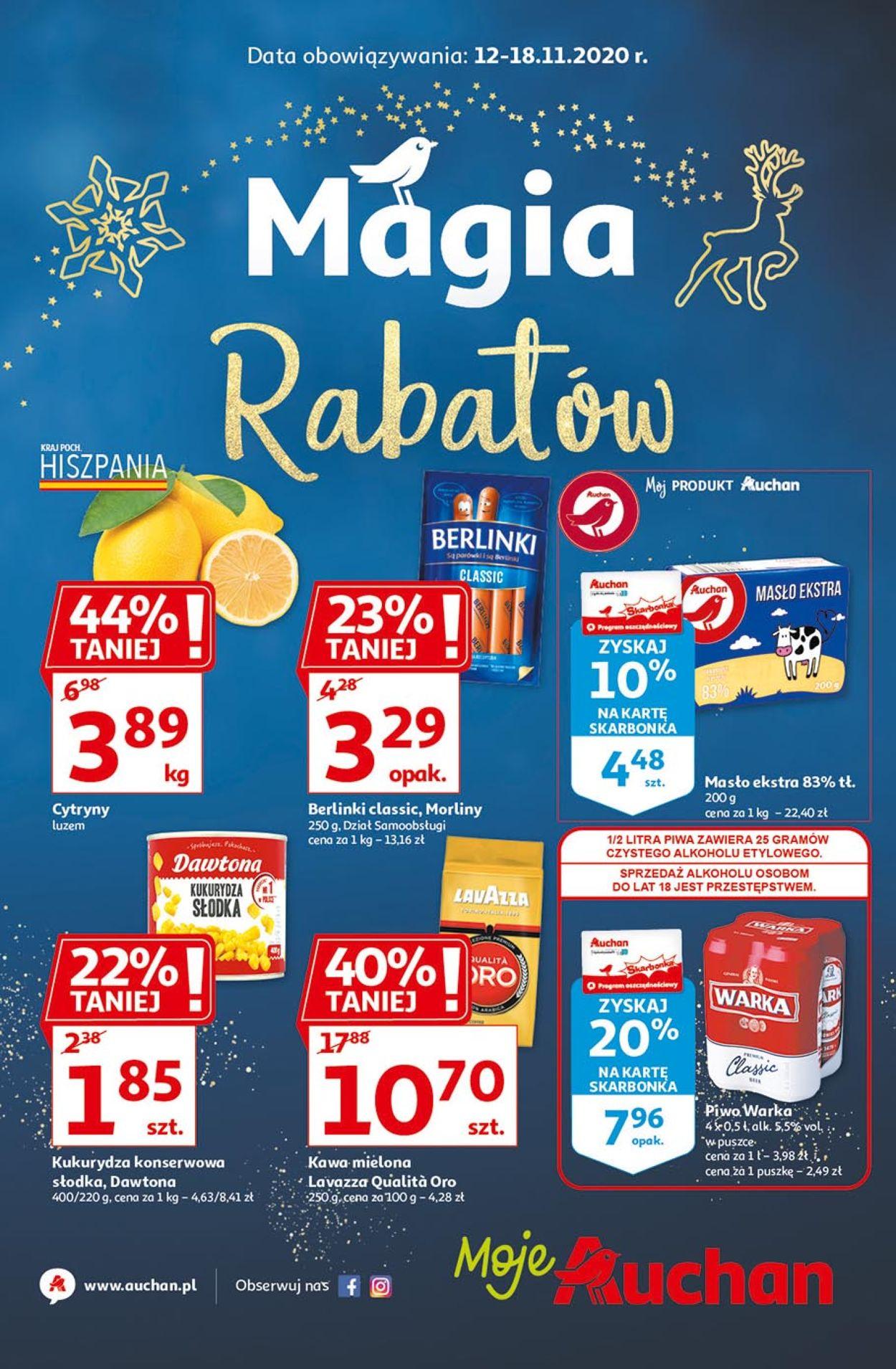 Gazetka promocyjna Auchan - 12.11-18.11.2020