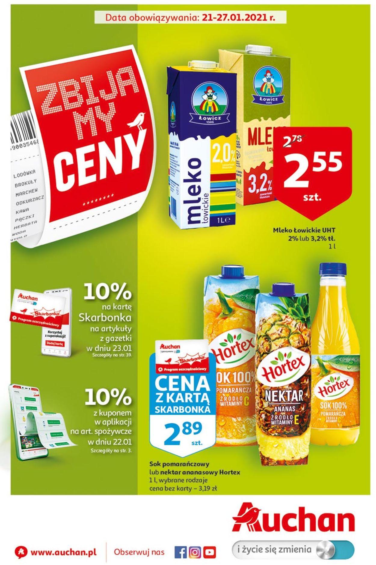 Gazetka promocyjna Auchan - 21.01-27.01.2021